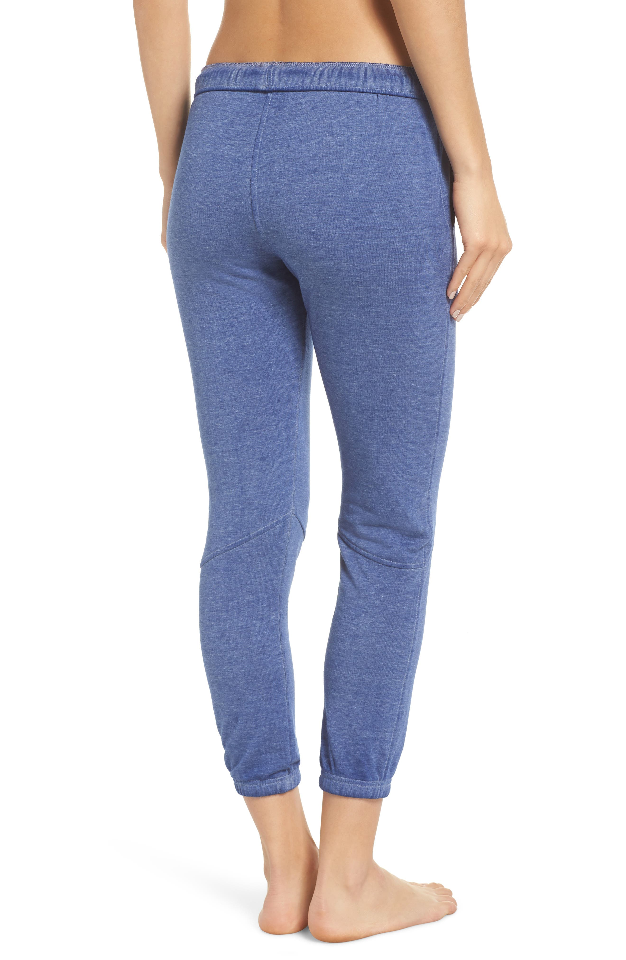 Free People FP Movement Zuma Crop Jogger Pants,                             Alternate thumbnail 2, color,                             BLUE