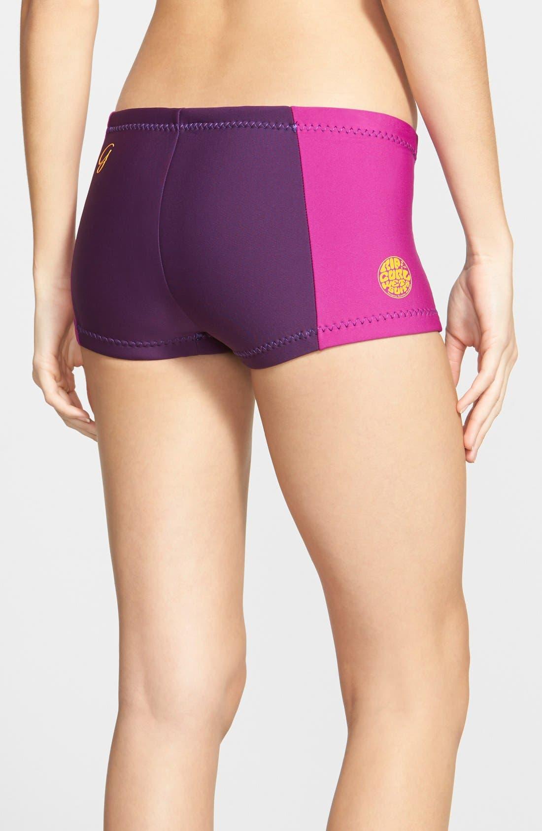 'G Bomb' Swim Shorts,                             Alternate thumbnail 7, color,