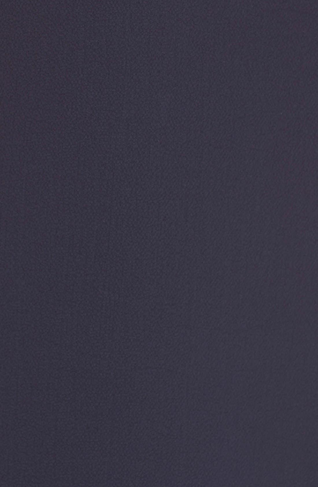 Crepe Halter Dress,                             Alternate thumbnail 4, color,                             410