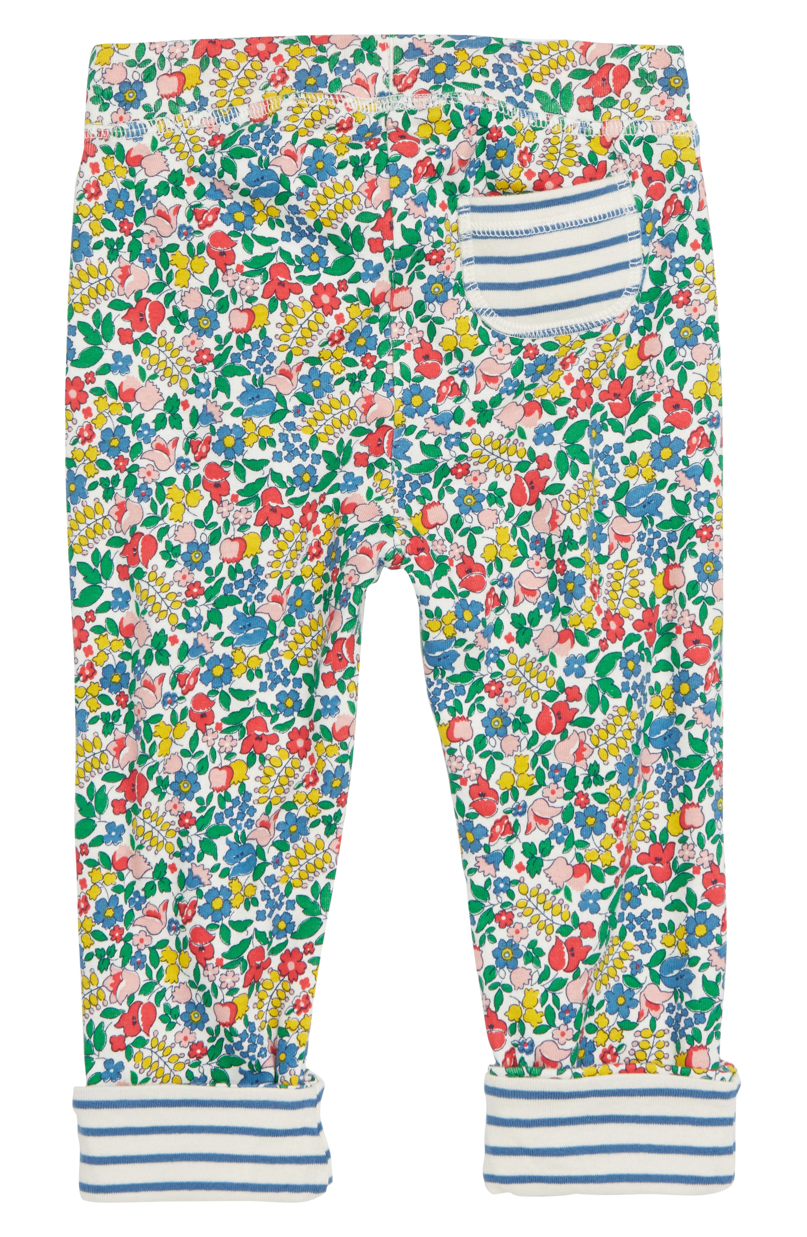 Supersoft Reversible Pants,                             Alternate thumbnail 3, color,                             FLOWERBED
