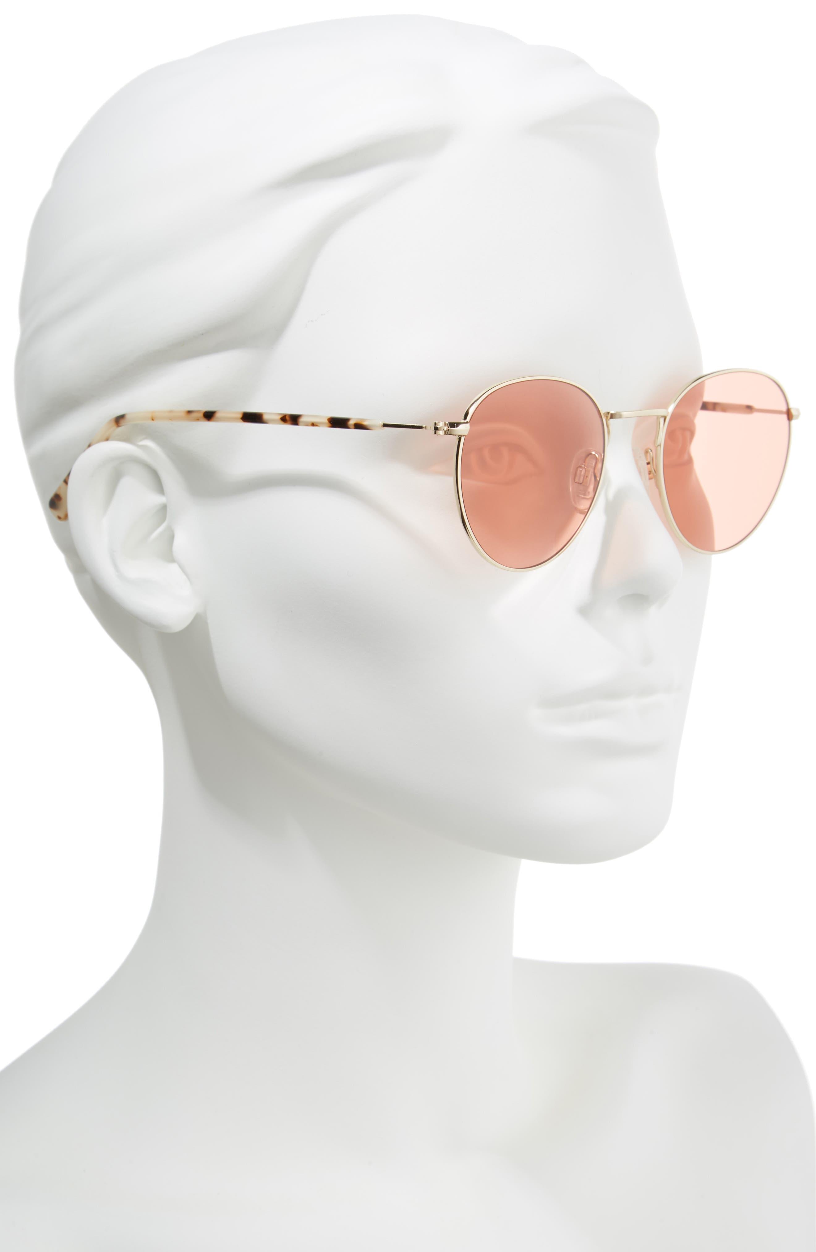 D'BLANC Prologue 48mm Sunglasses,                             Alternate thumbnail 2, color,                             710