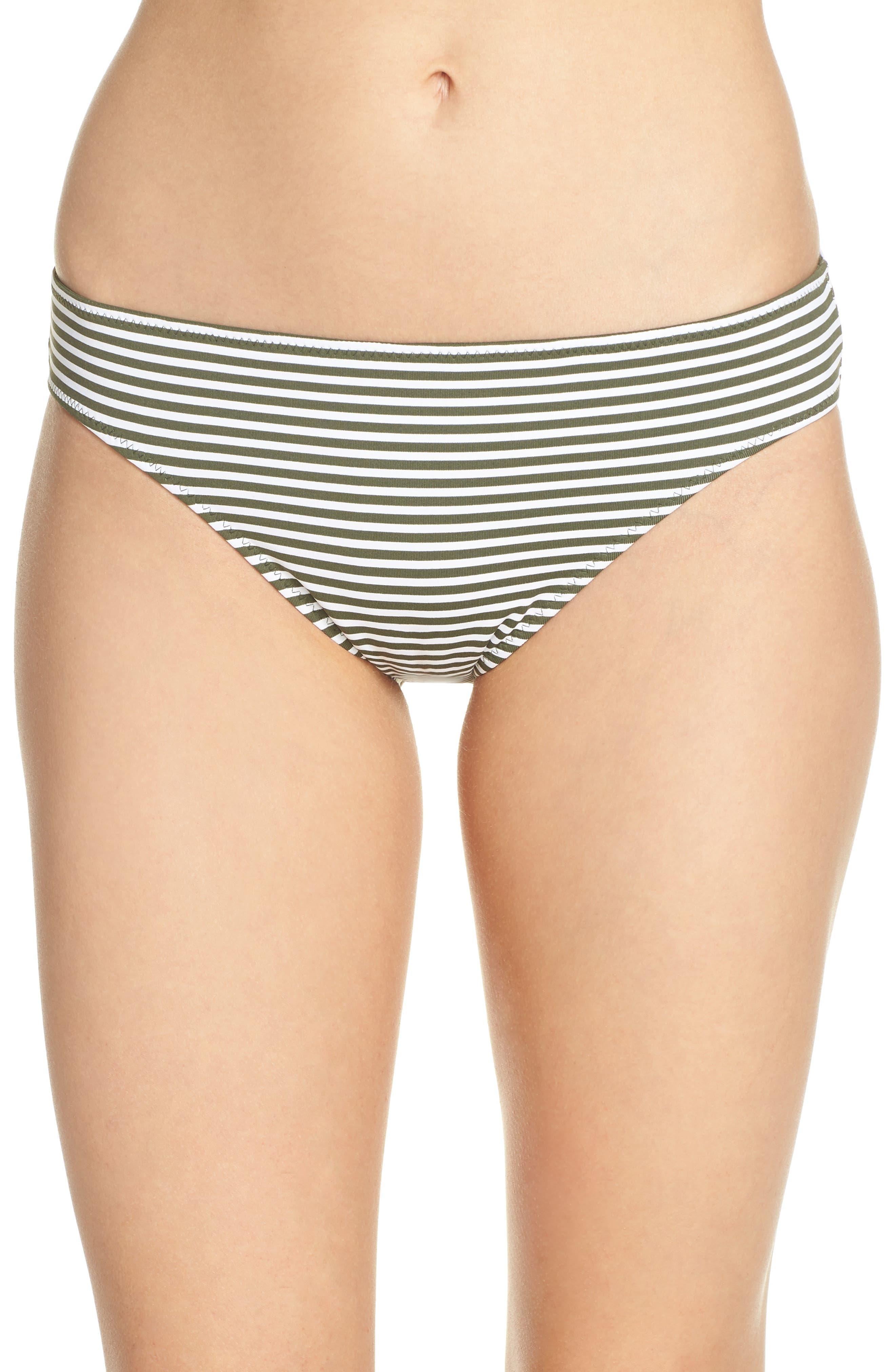Reversible Hipster Bikini Bottoms,                             Main thumbnail 1, color,                             DARK TEA LEAF