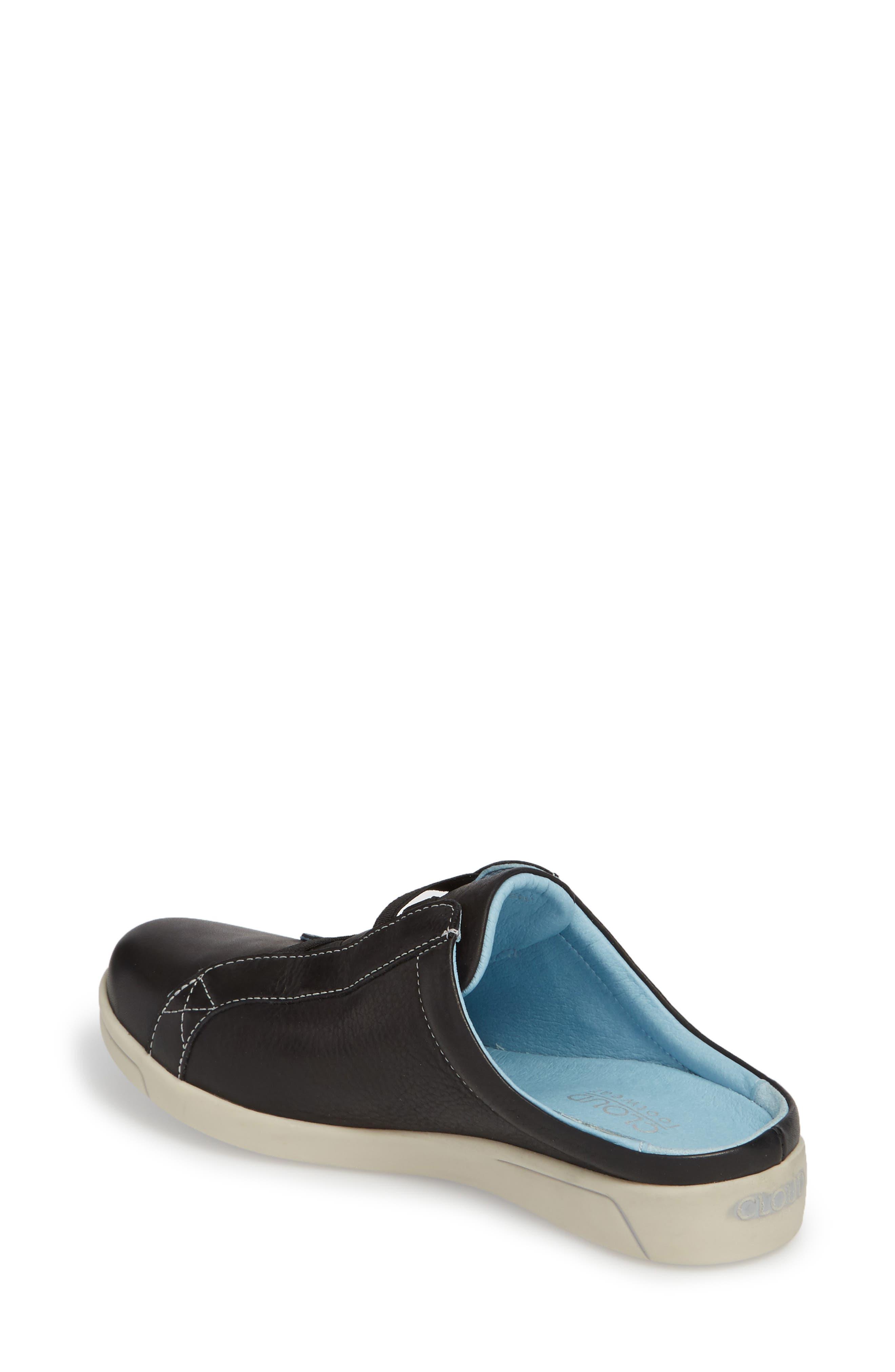 Arizona Sneaker,                             Alternate thumbnail 2, color,                             BLACK LEATHER