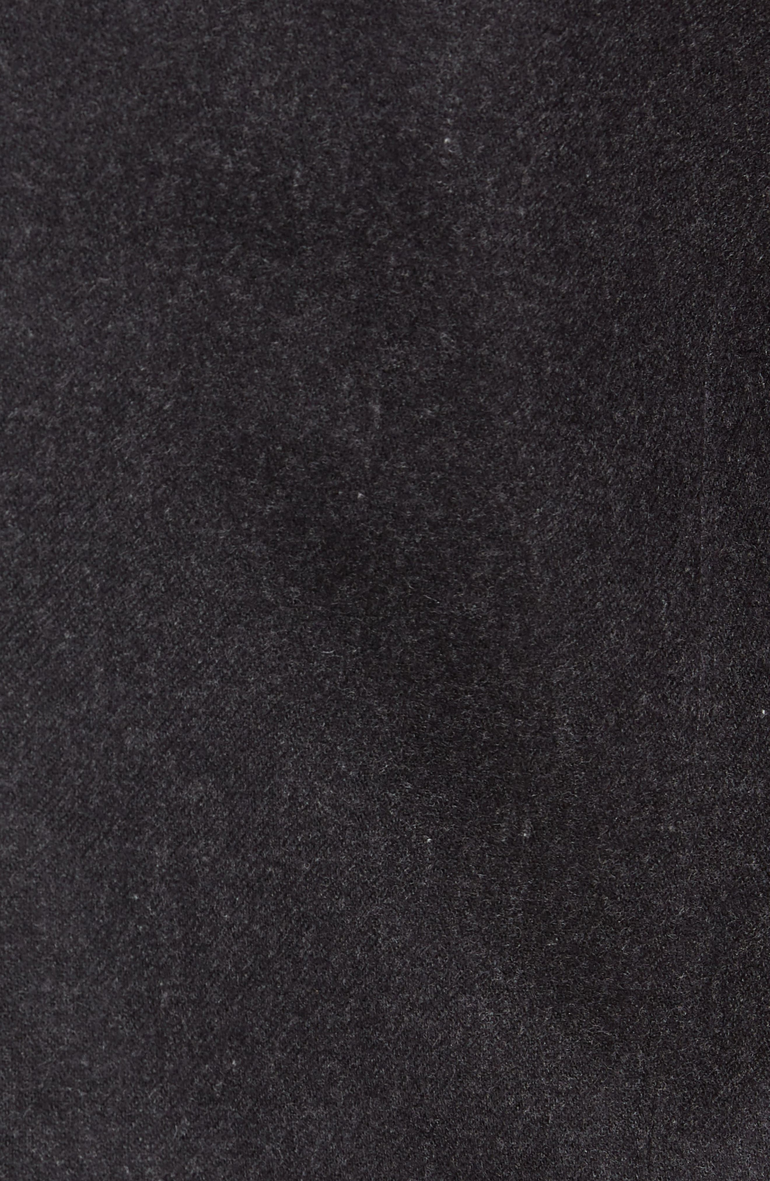 Tech Merino Wool Blend Mac Coat,                             Alternate thumbnail 7, color,                             MEDIUM BLACK