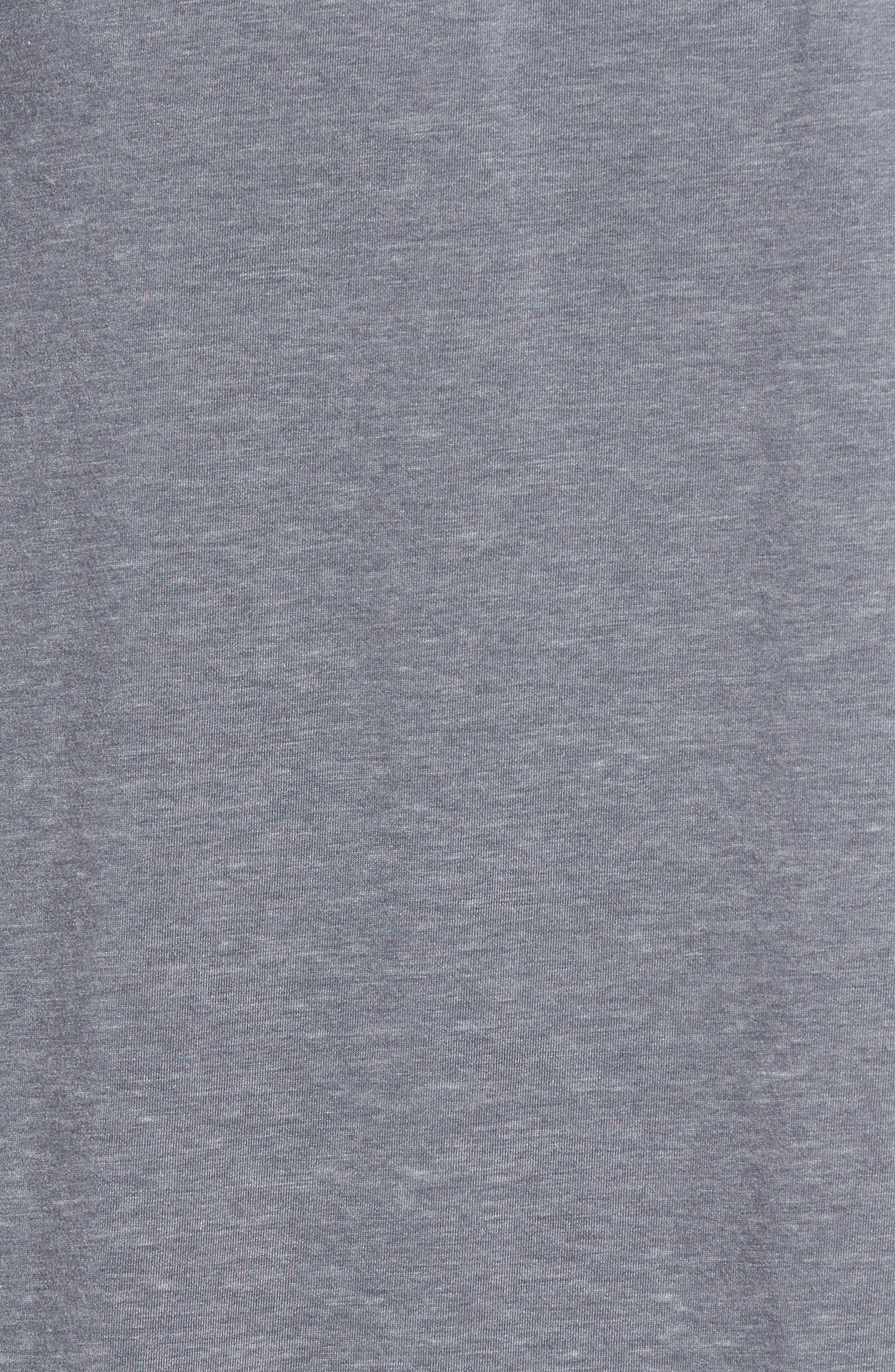 Burnout Cotton Blend Robe,                             Alternate thumbnail 5, color,                             020
