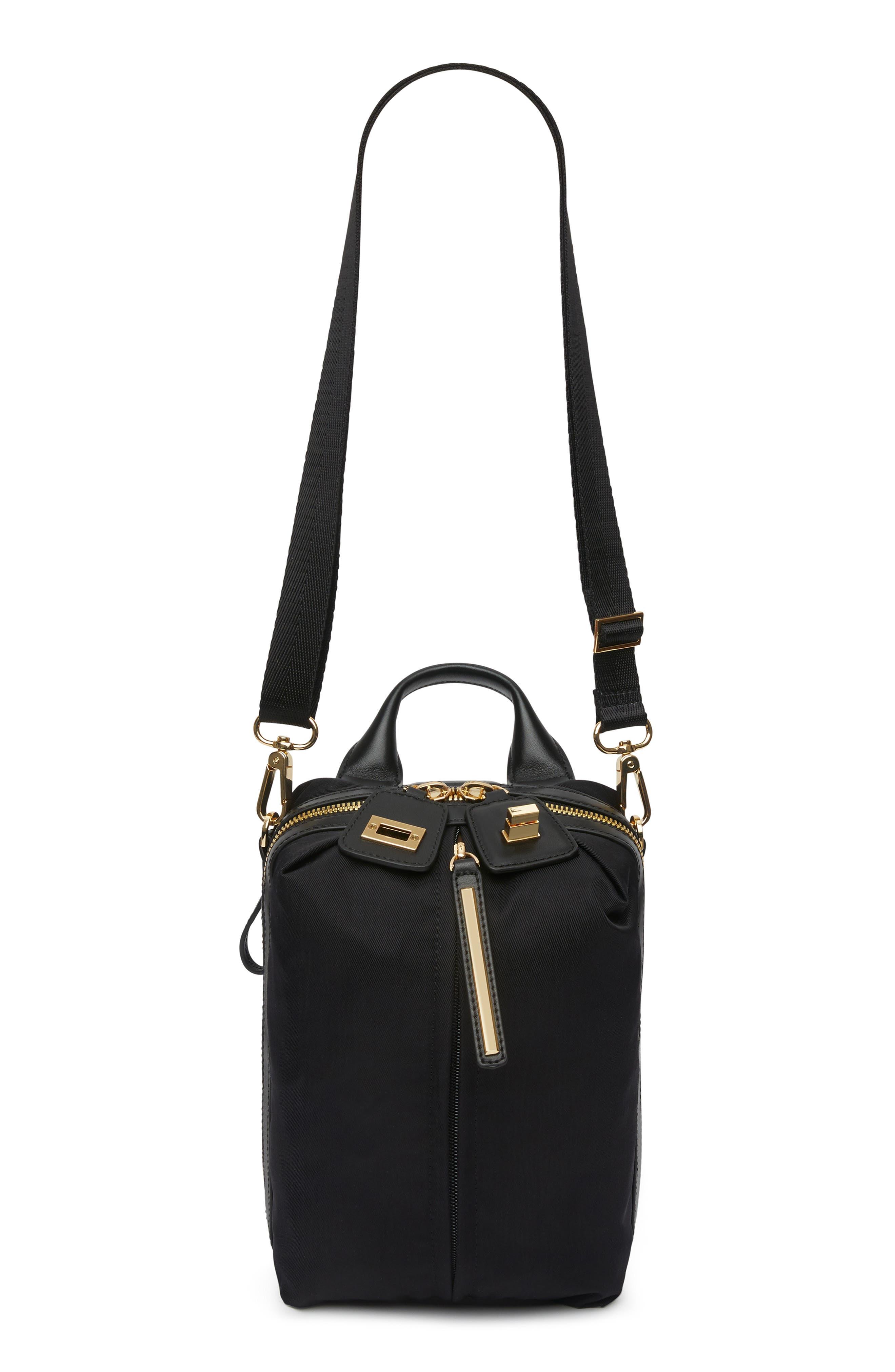 Studio 2 Mini Duffel Bag,                         Main,                         color, BLACK GOLD