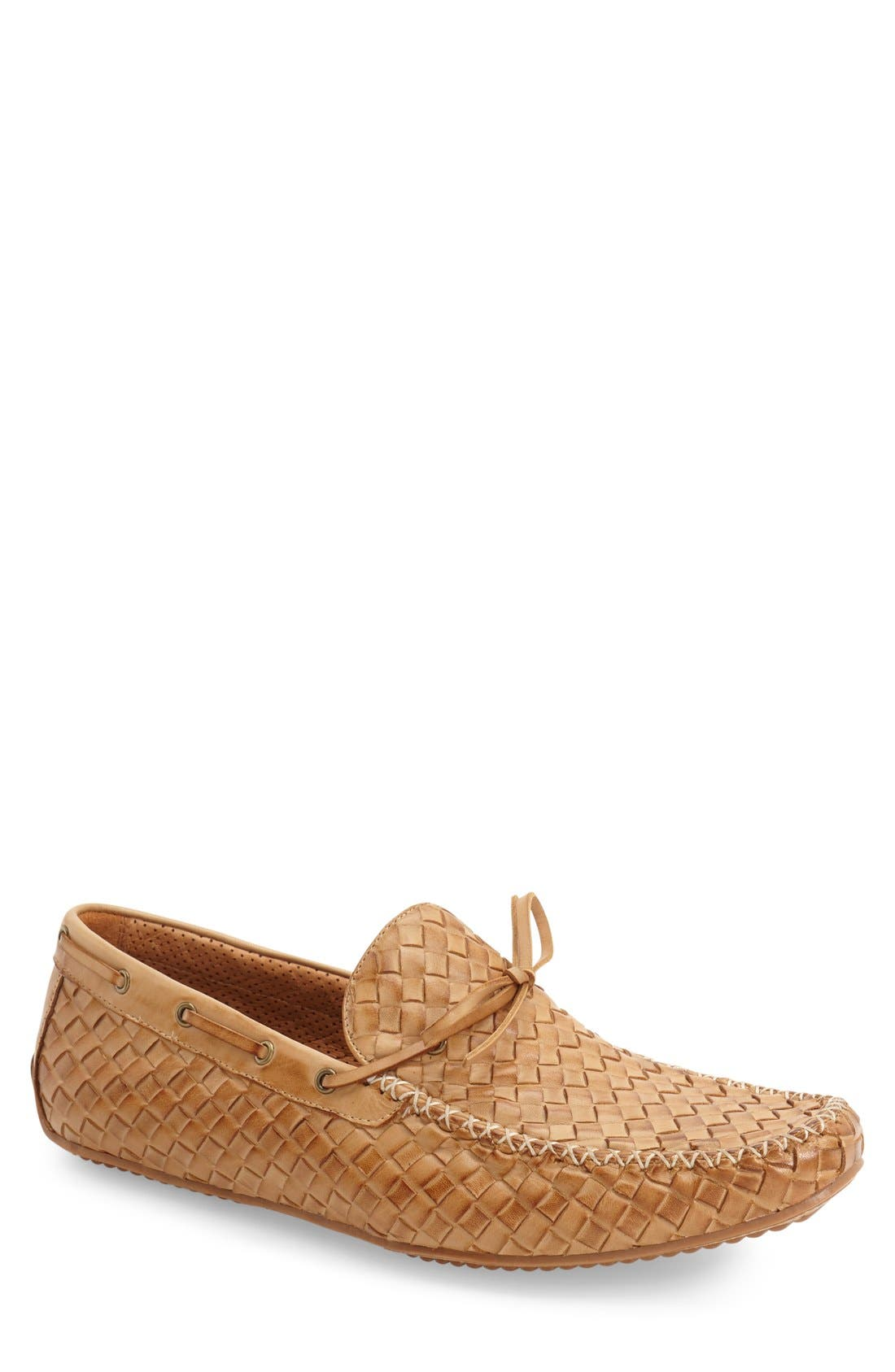 Leather Loafer,                             Main thumbnail 7, color,