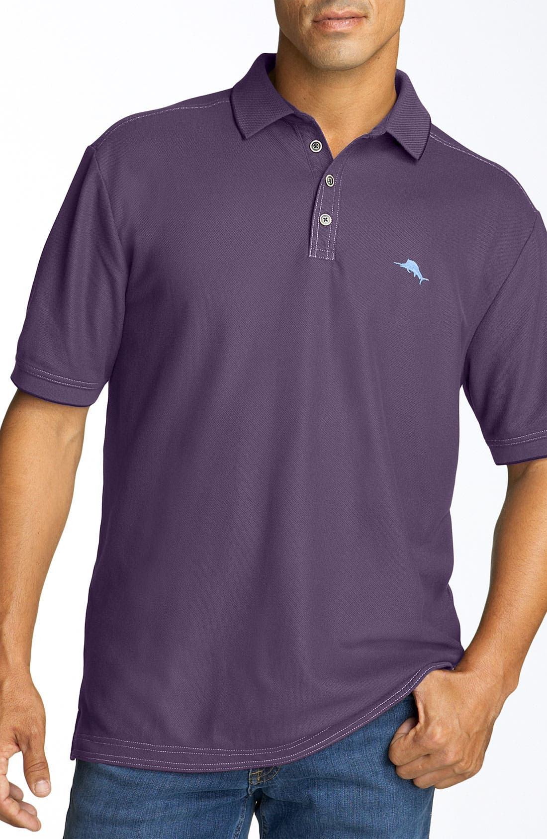 'The Emfielder' Original Fit Piqué Polo,                             Main thumbnail 85, color,