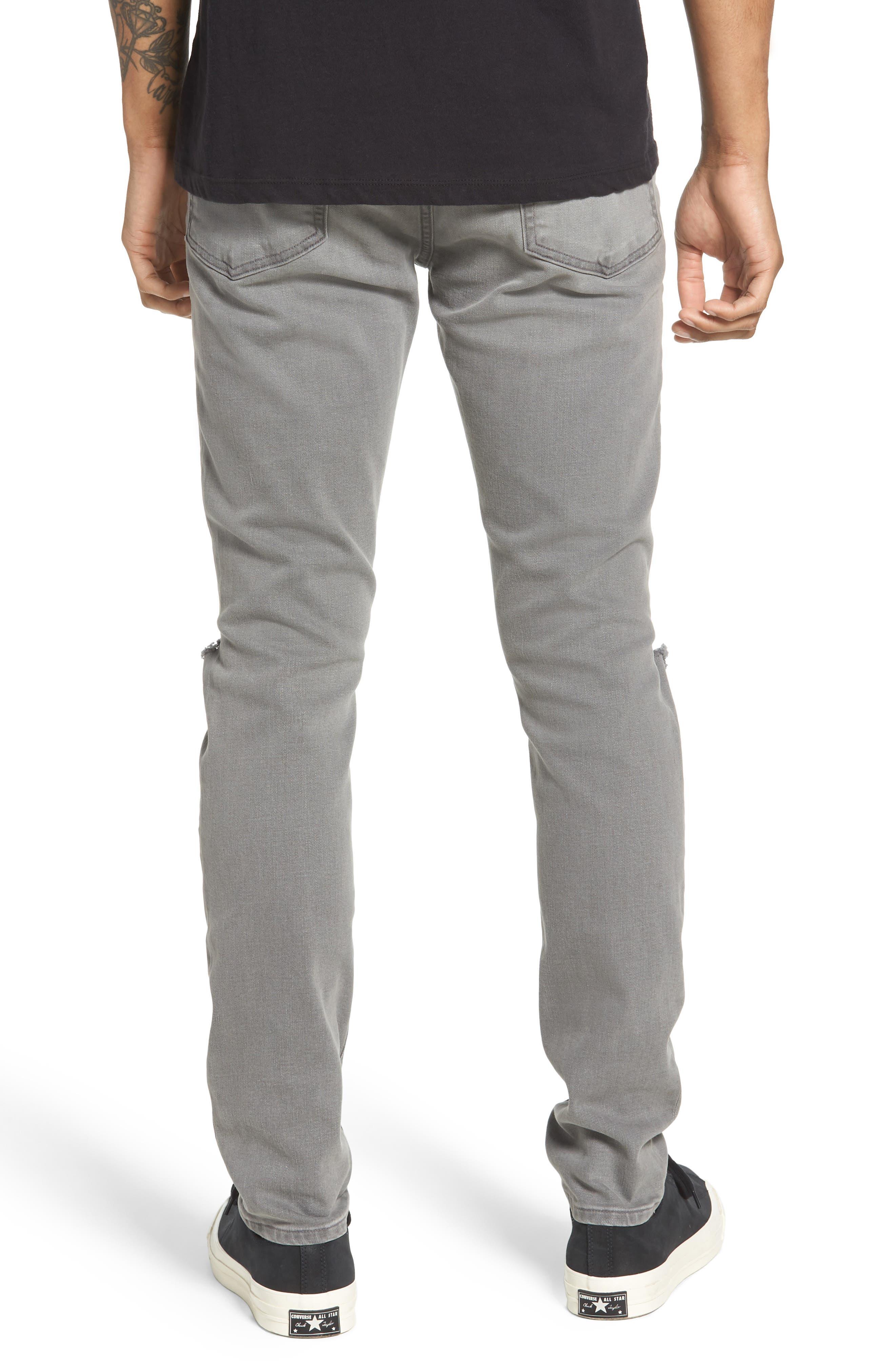 L'Homme Skinny Fit Jeans,                             Alternate thumbnail 2, color,                             030