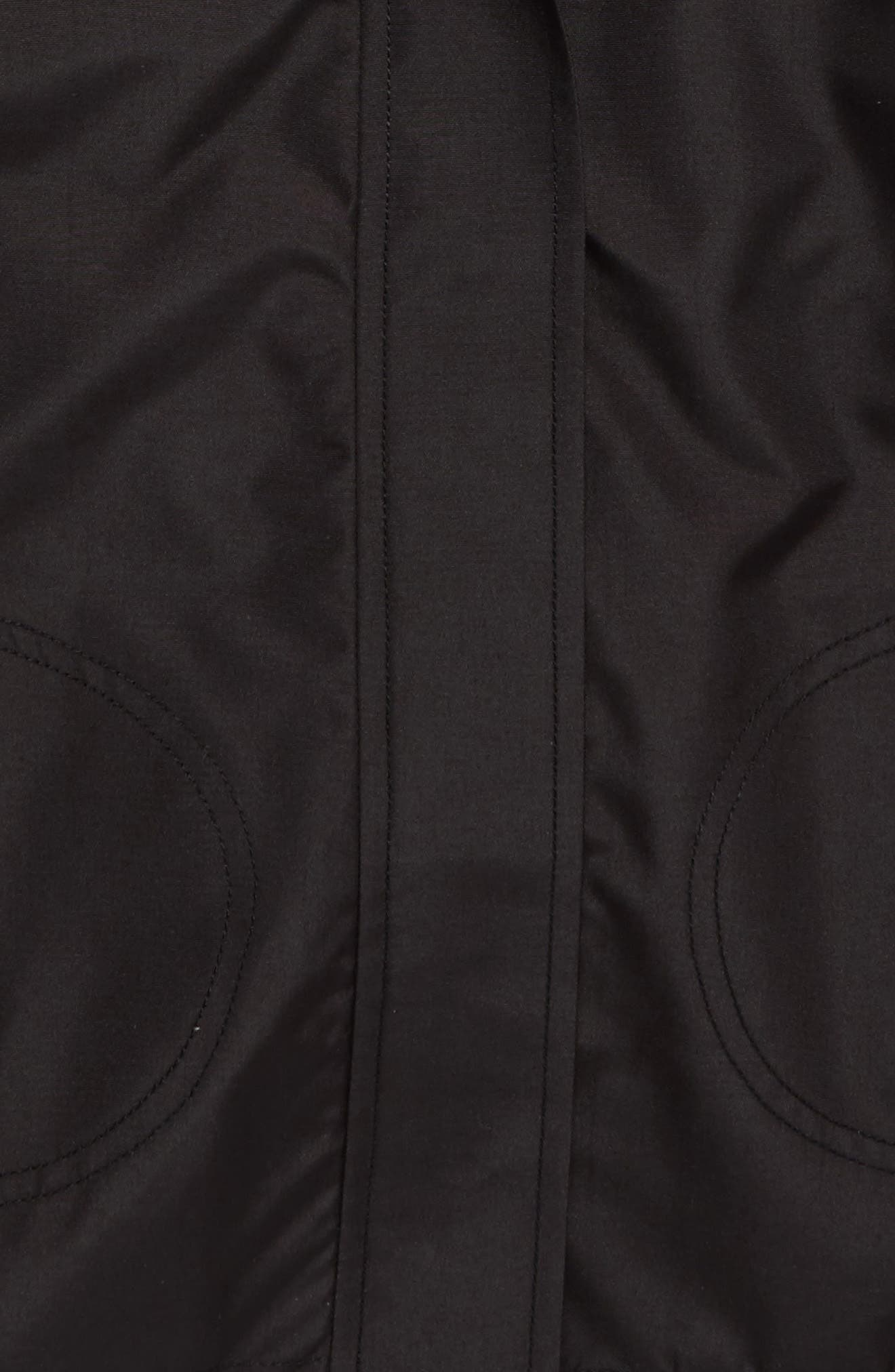 O'NEILL,                             Windy Water Resistant Hooded Jacket,                             Alternate thumbnail 2, color,                             BLACK