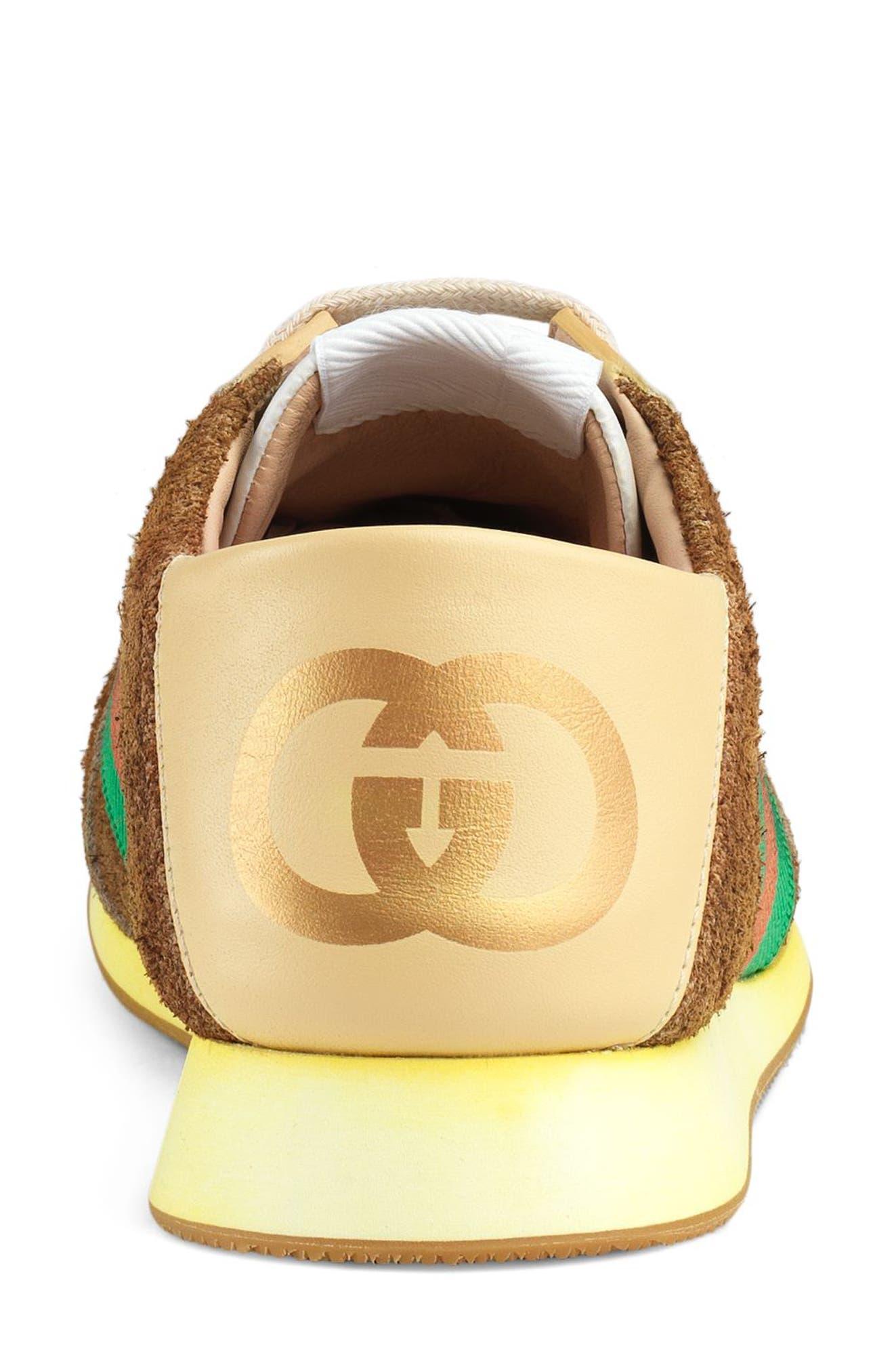 Rocket Convertible Sneaker,                             Alternate thumbnail 3, color,                             BROWN
