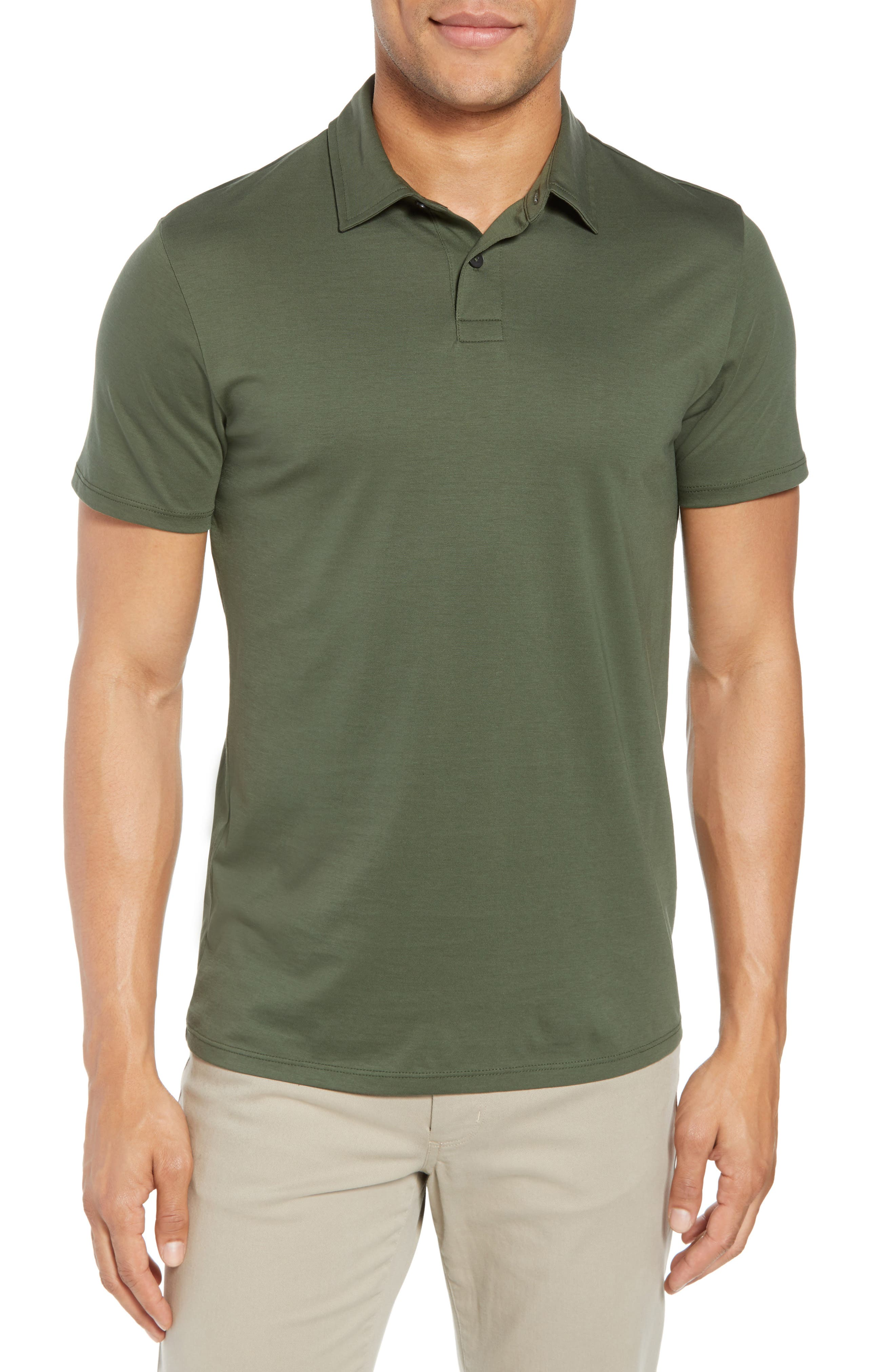 Refined Jersey Polo,                             Main thumbnail 4, color,