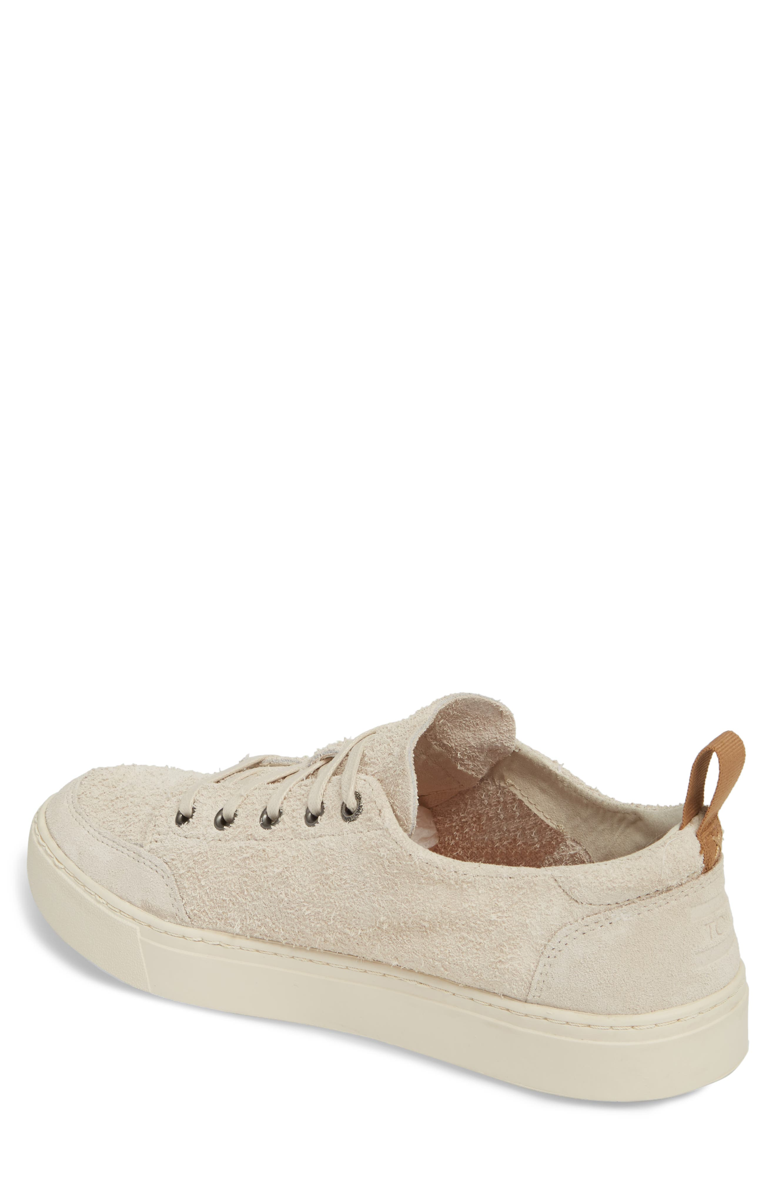 Landen Sneaker,                             Alternate thumbnail 2, color,                             BIRCH SHAGGY SUEDE