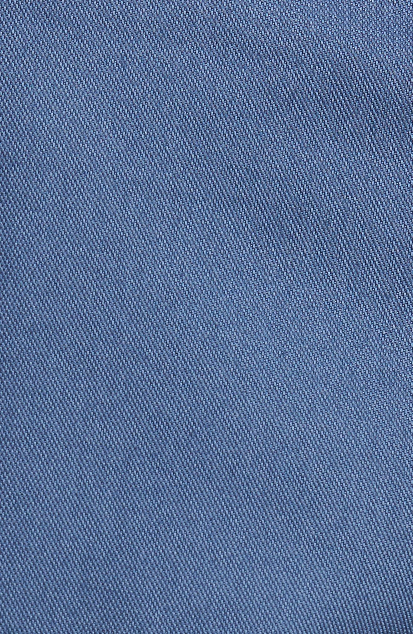 Driving Creek Regular Fit Flat Front Shorts,                             Alternate thumbnail 5, color,                             020