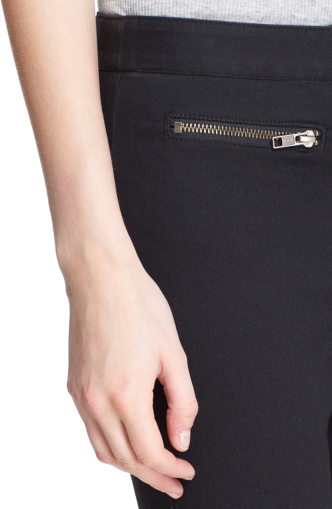 Skinny Crop Trousers,                             Alternate thumbnail 2, color,                             001