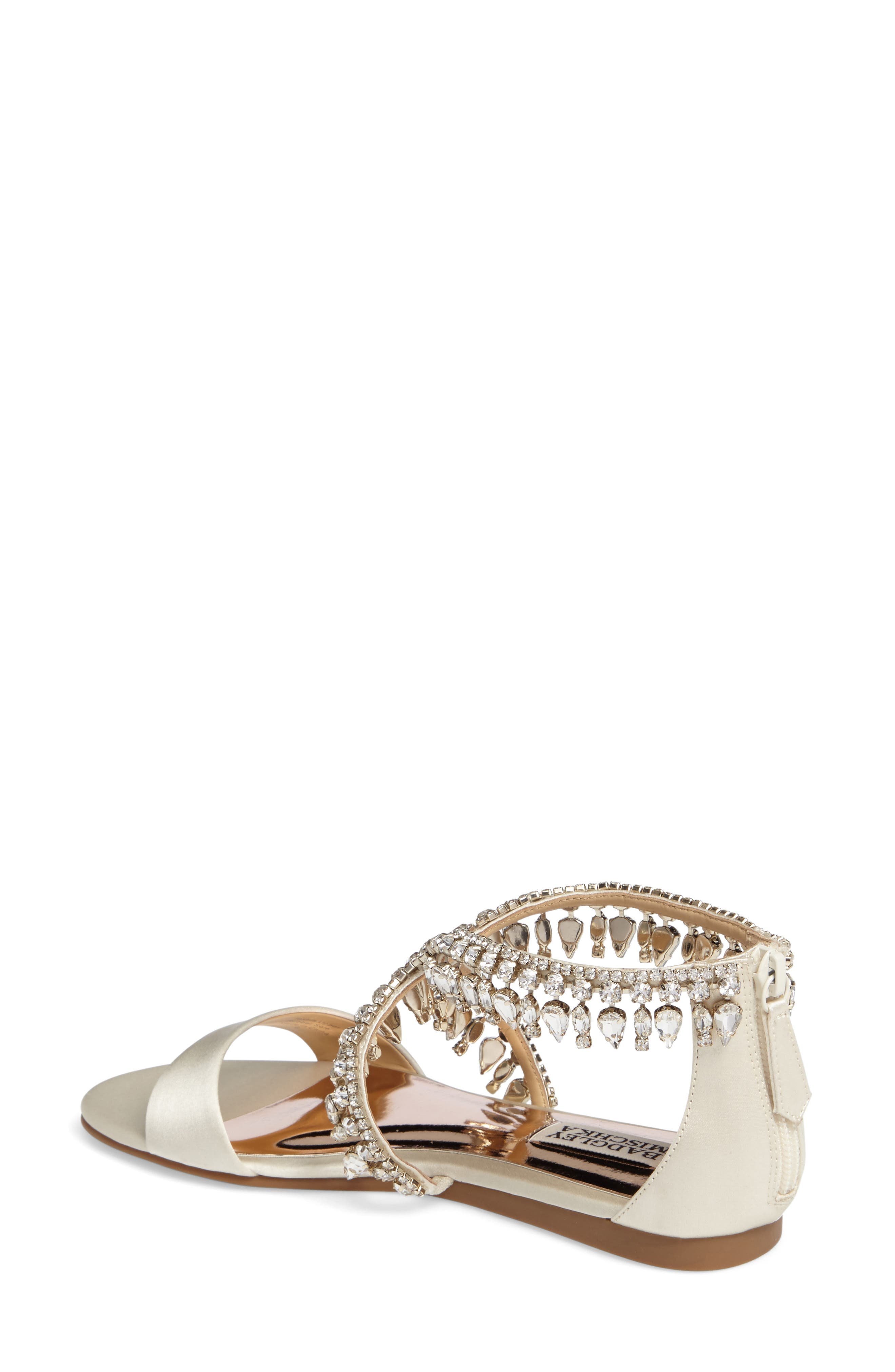 Tristen Crystal Sandal,                             Alternate thumbnail 7, color,