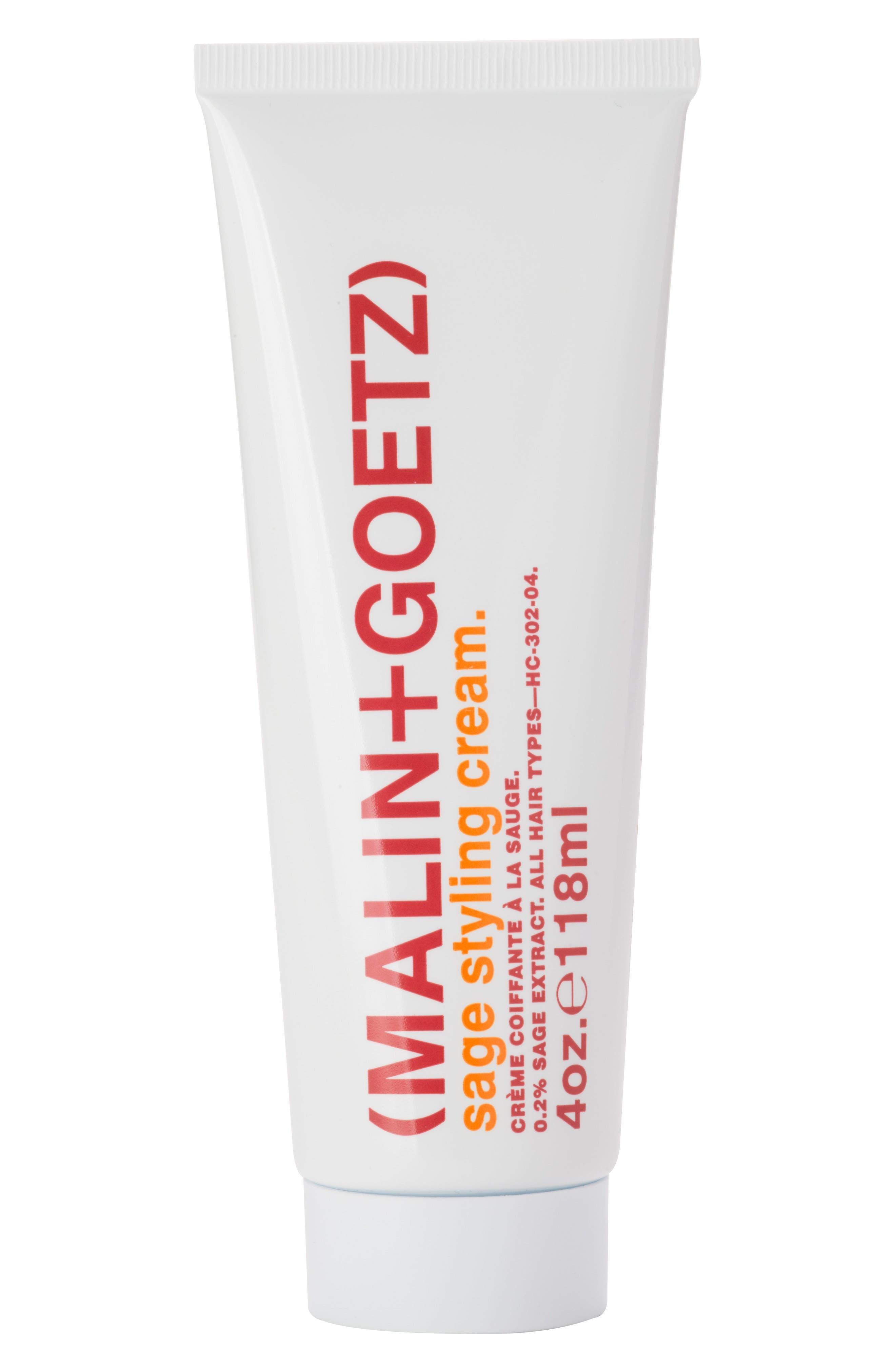 MALIN+GOETZ Sage Styling Cream, Main, color, NO COLOR