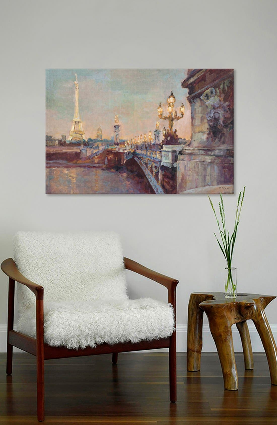 'Parisian Evening' Giclée Print Canvas Art,                             Alternate thumbnail 2, color,                             020