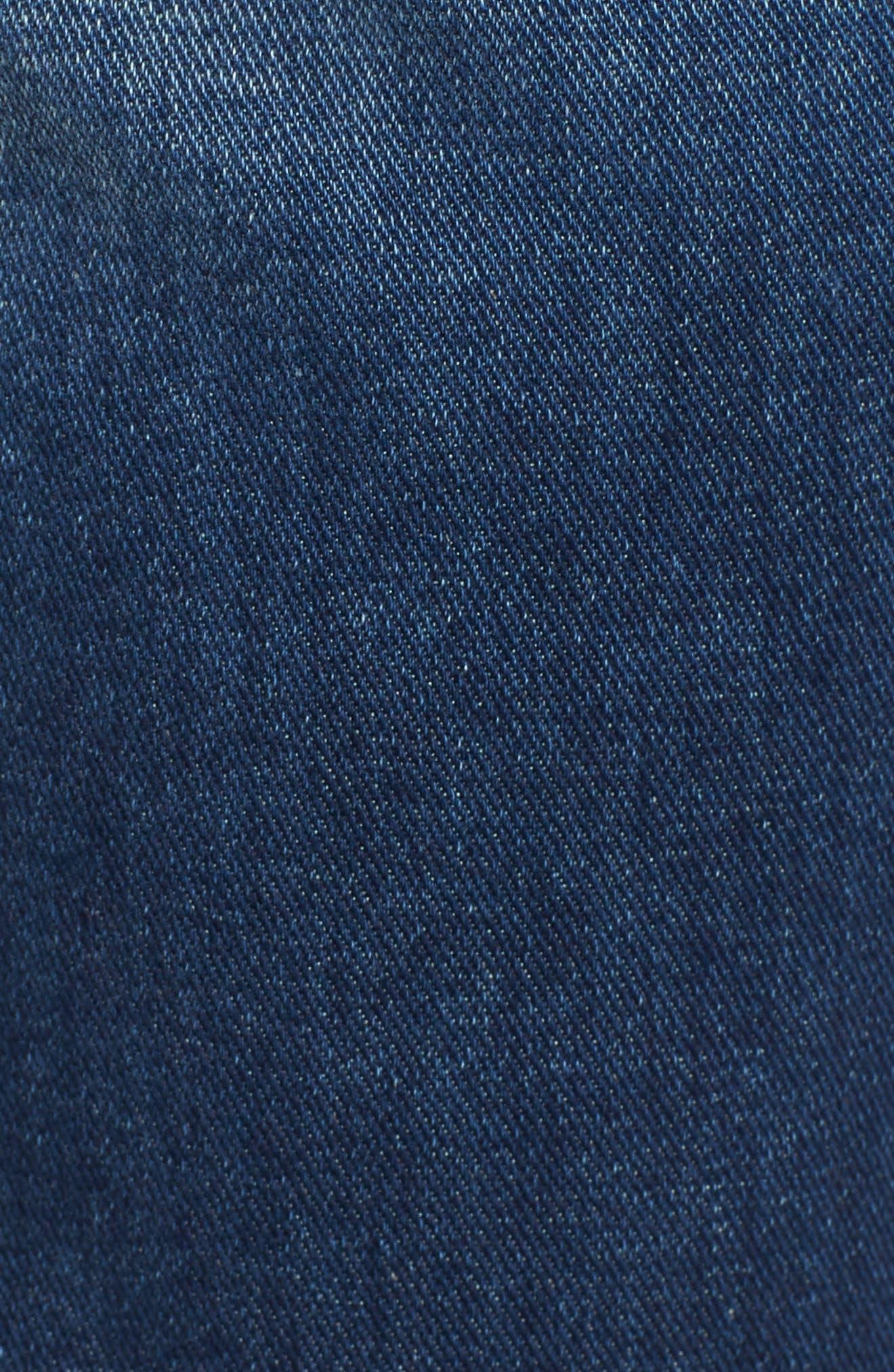 Standard Straight Leg Jeans,                             Alternate thumbnail 5, color,                             400