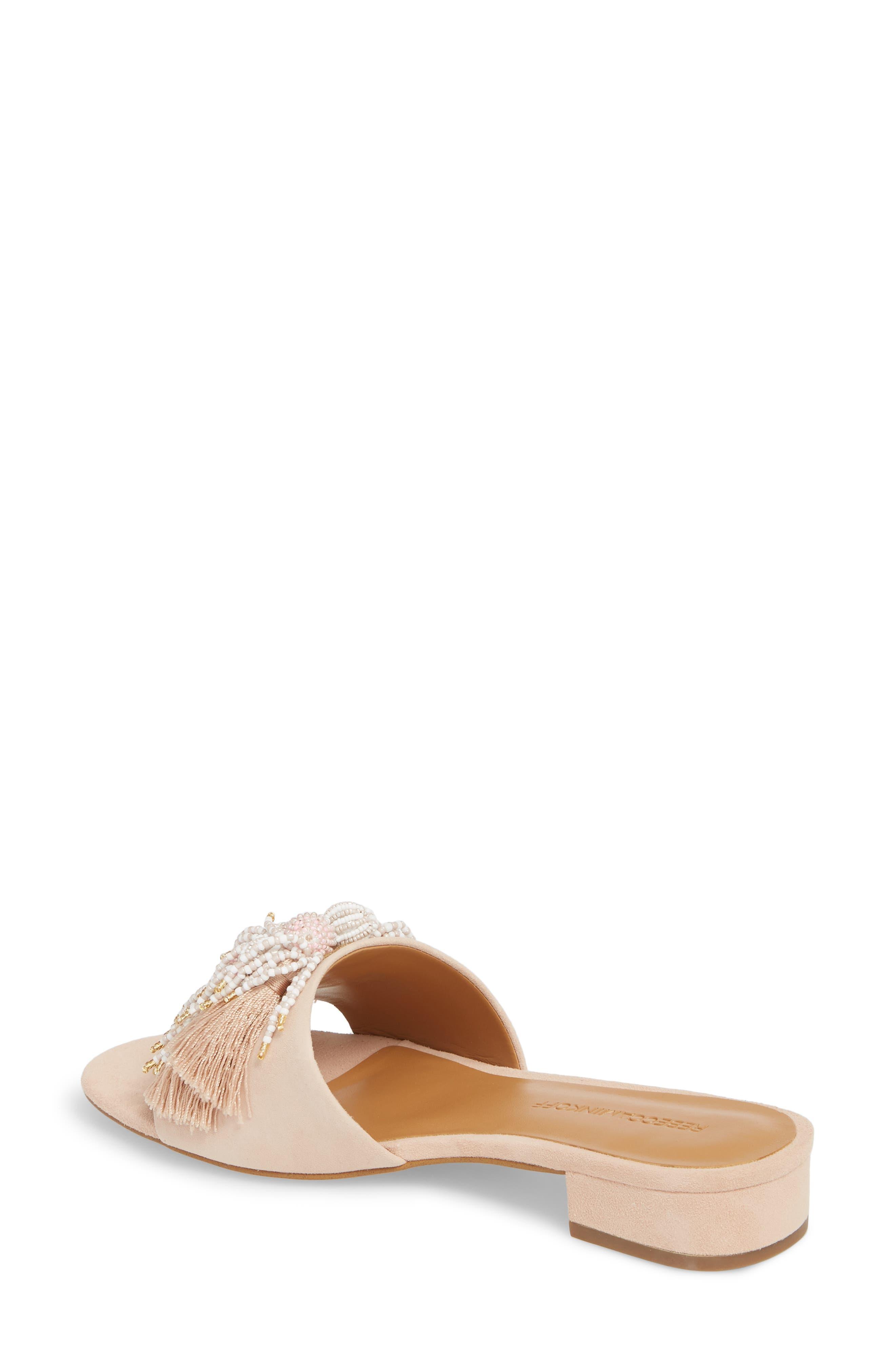 Kayleigh Embellished Slide Sandal,                             Alternate thumbnail 2, color,                             CERAMIC SUEDE