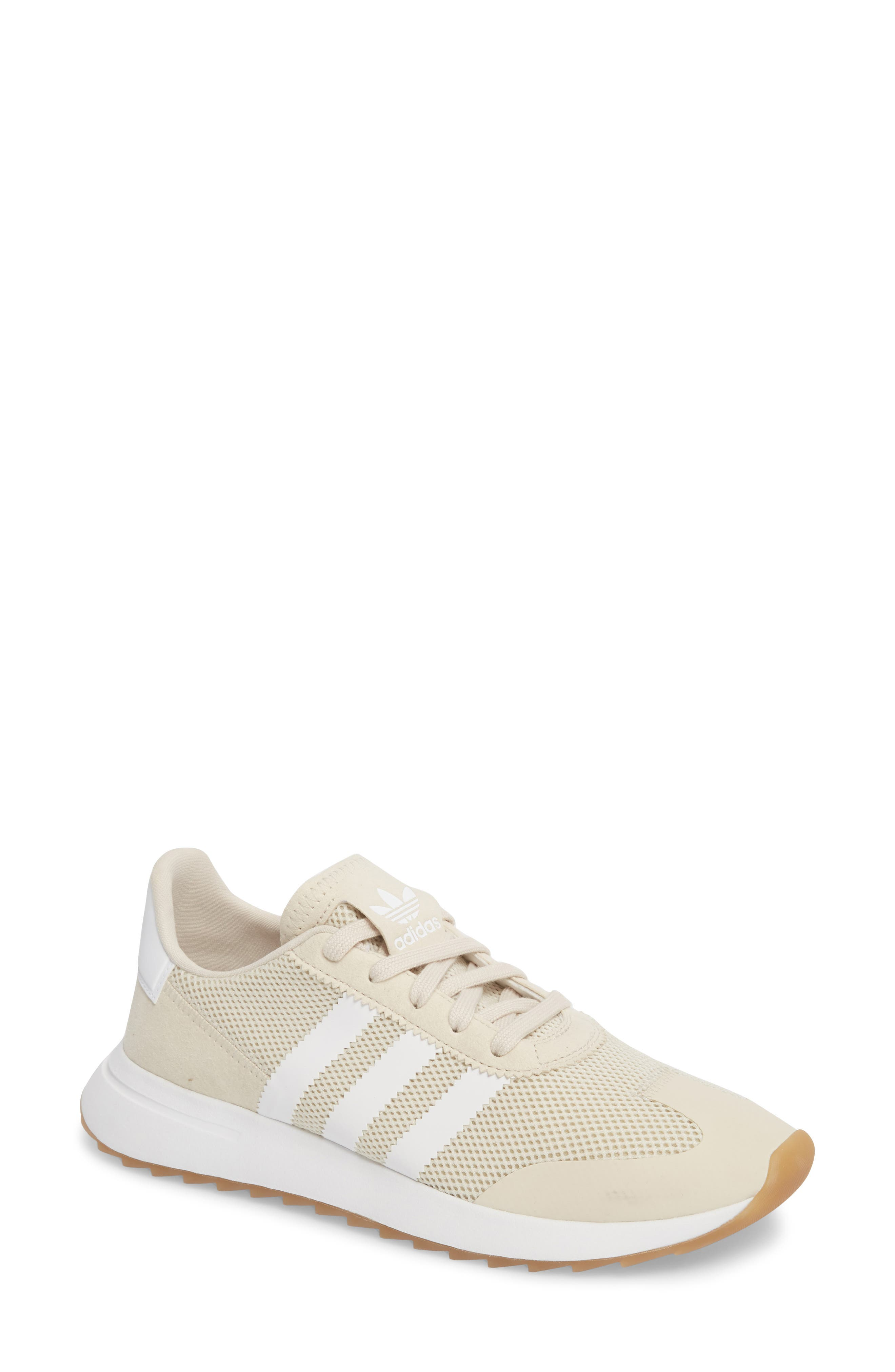 Flashback Sneaker,                         Main,                         color, CLEAR BROWN/ BROWN/ WHITE