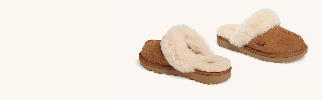 Girls' slippers.