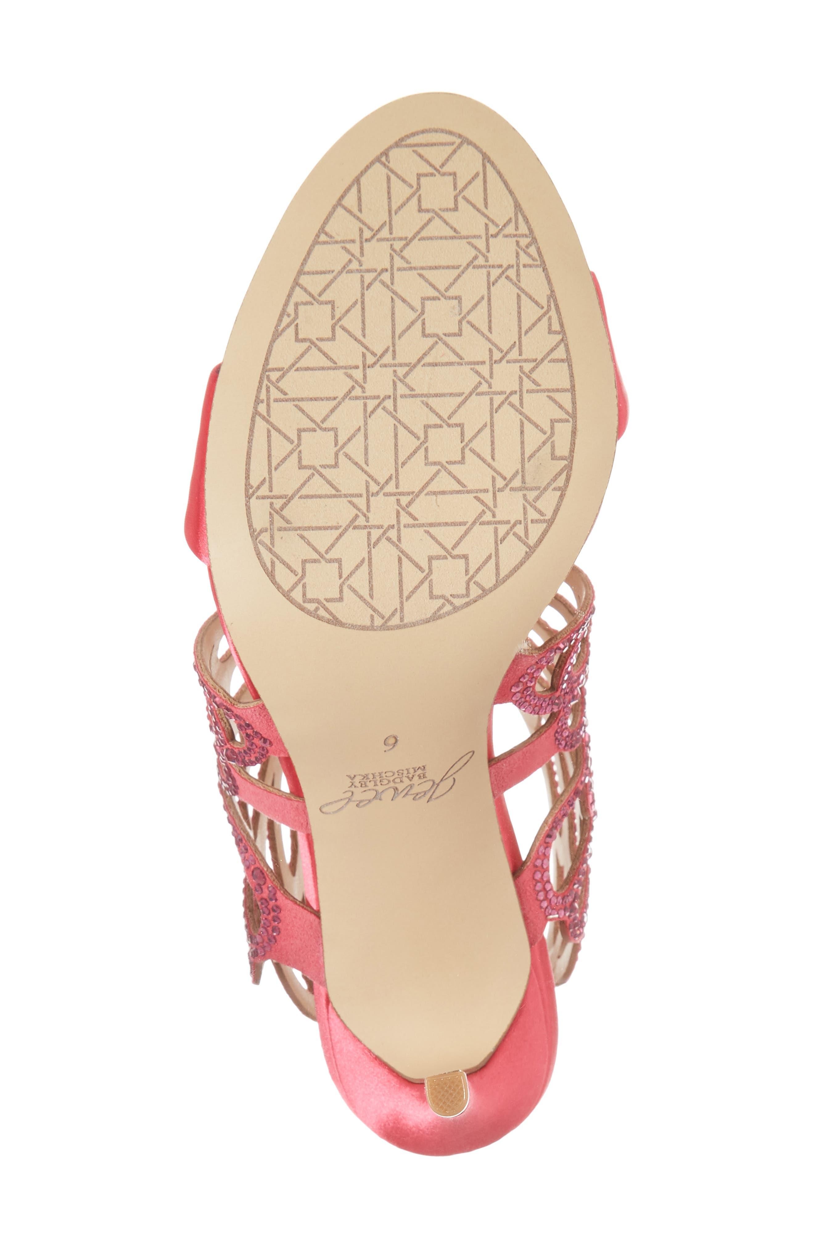 Taresa Crystal Embellished Butterfly Sandal,                             Alternate thumbnail 23, color,
