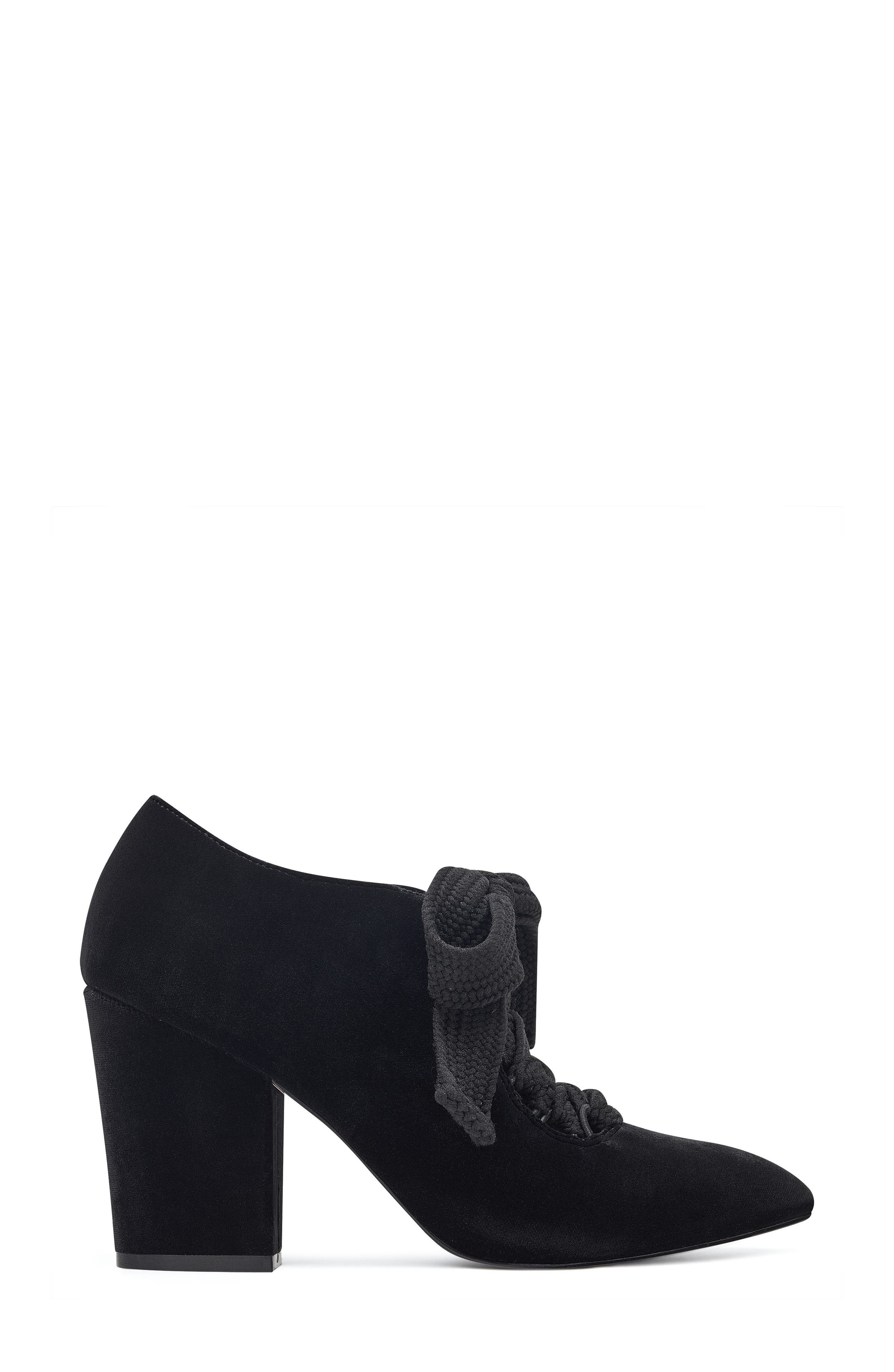 Sweeorn Lace-Up Bootie,                             Alternate thumbnail 3, color,                             009