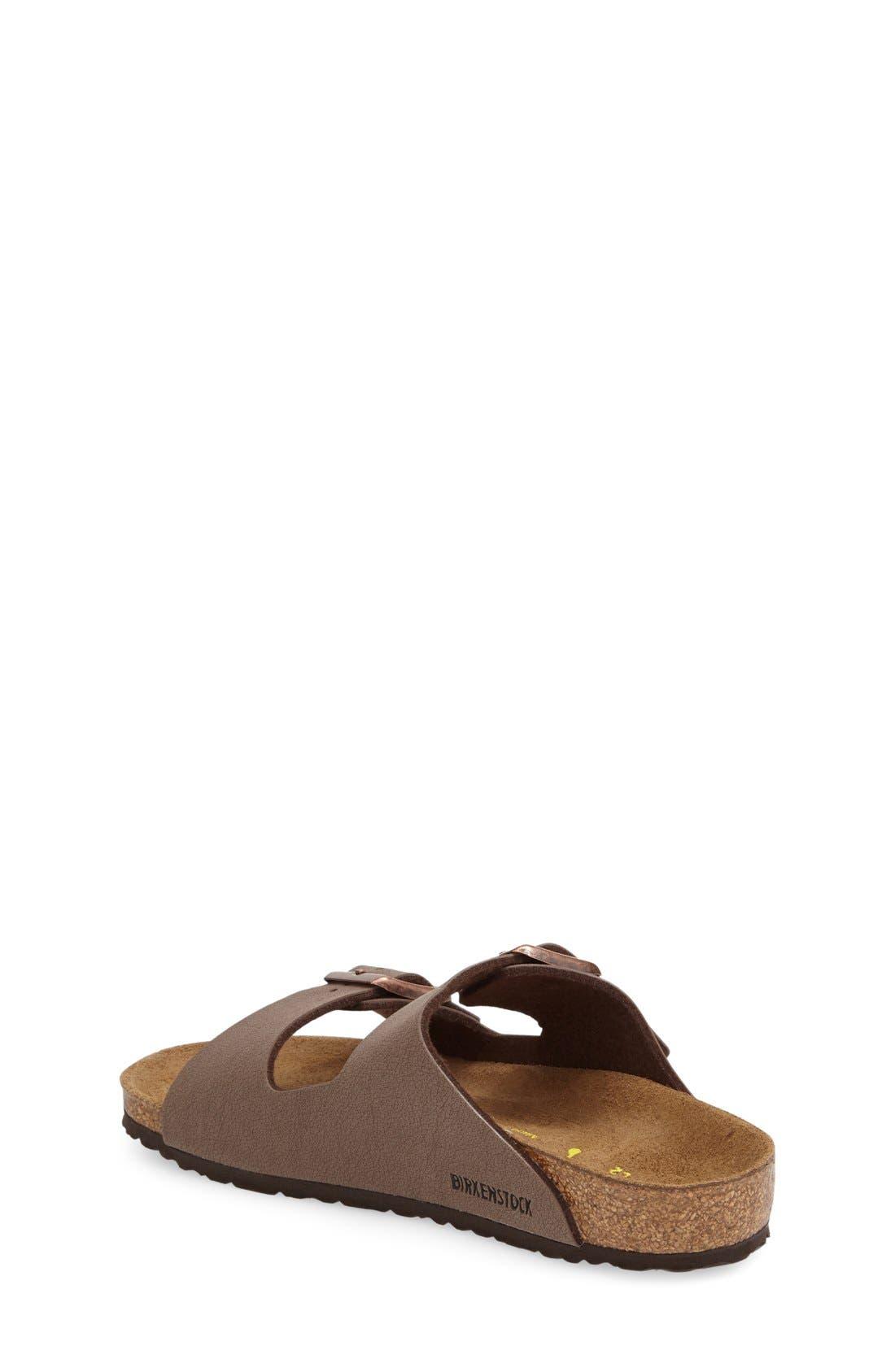 'Arizona' Suede Sandal,                             Alternate thumbnail 2, color,                             MOCHA