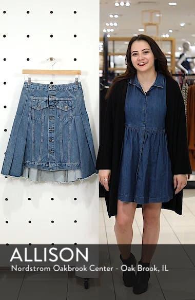 Type III Pleated Denim Skirt, sales video thumbnail