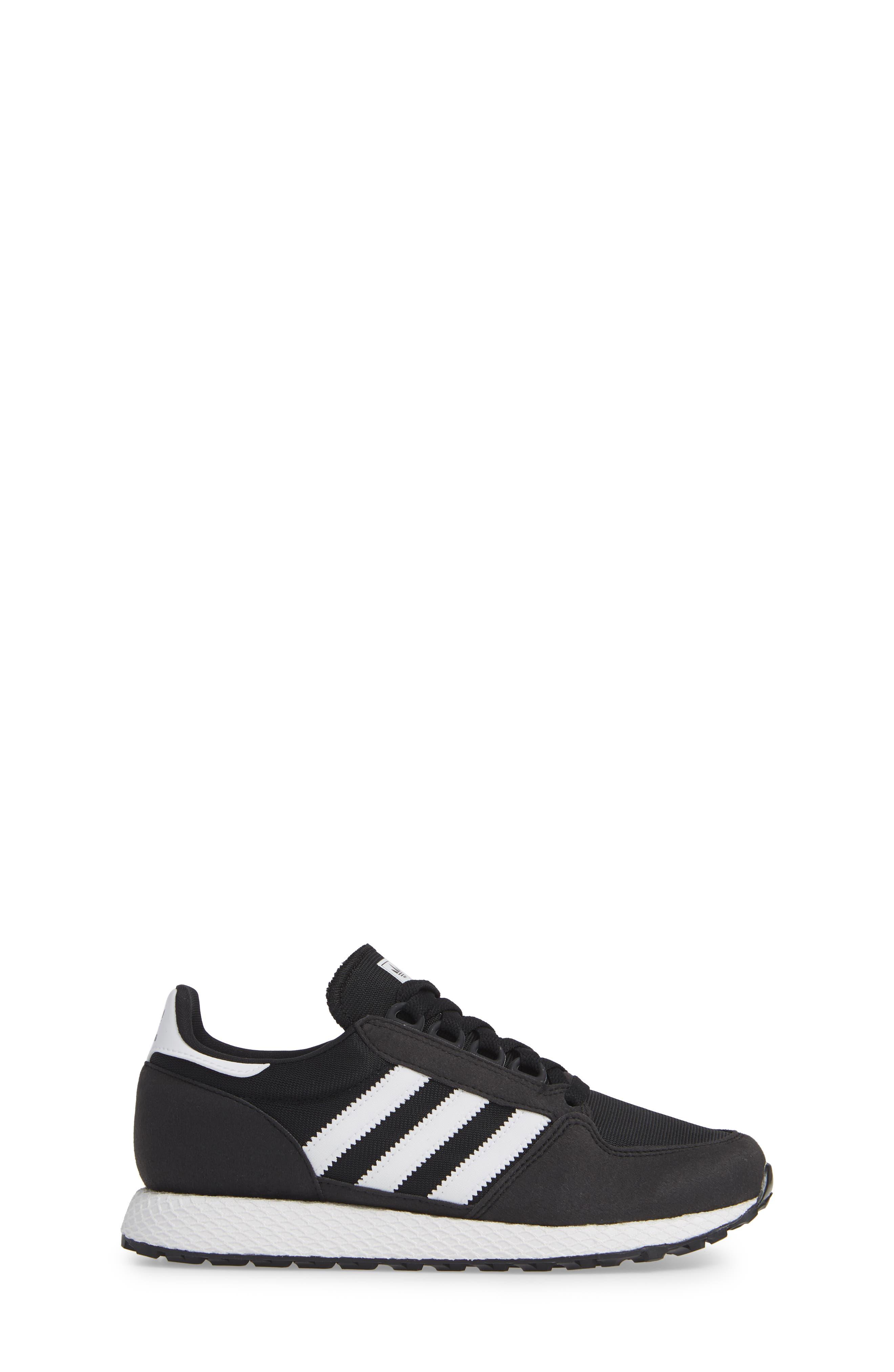 Forest Grove Sneaker,                             Alternate thumbnail 3, color,                             BLACK/ WHITE/ BLACK