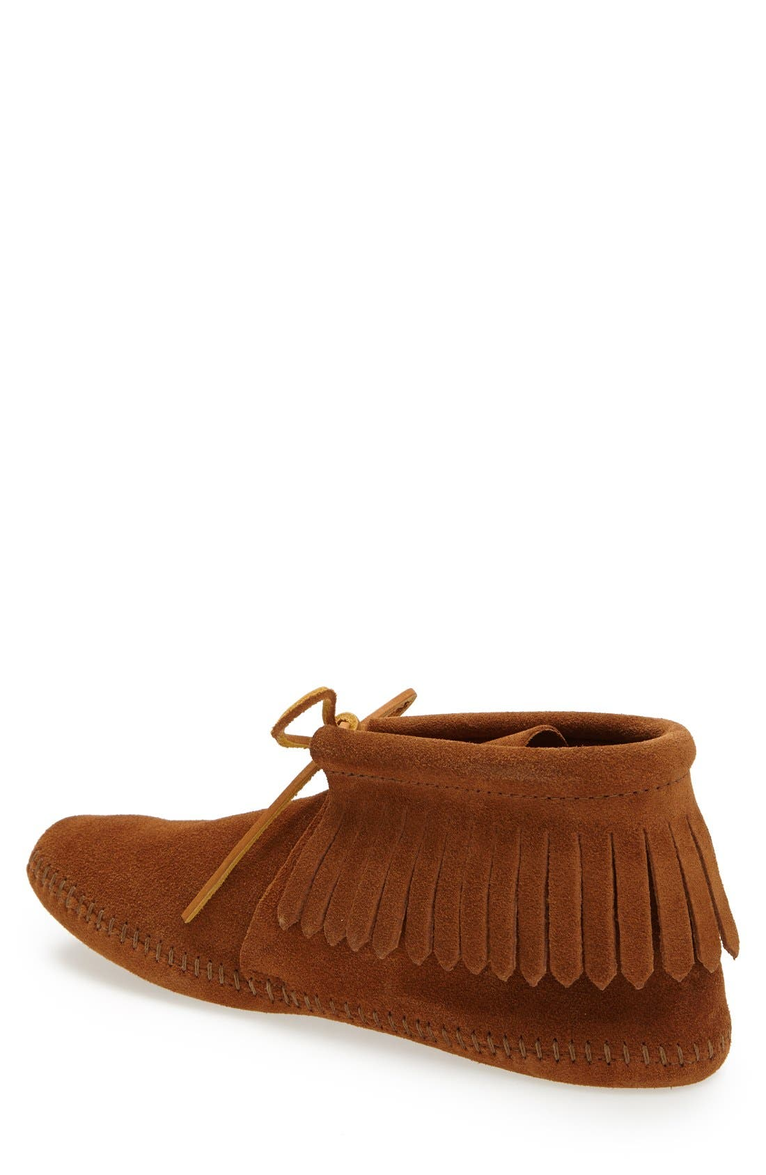 Fringe Boot,                             Alternate thumbnail 2, color,                             BROWN
