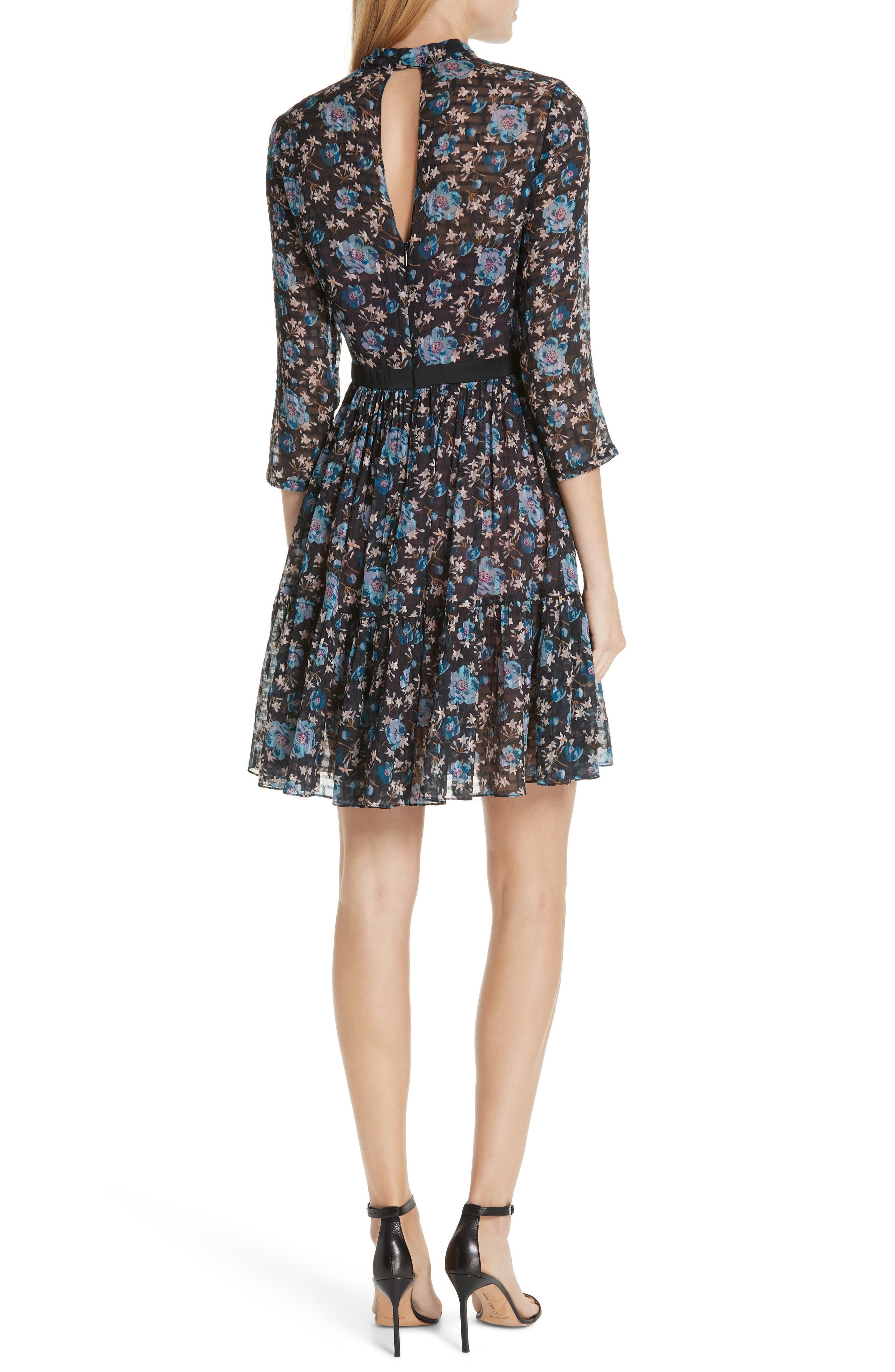 Solstice Silk Blend Dress,                             Alternate thumbnail 2, color,                             014