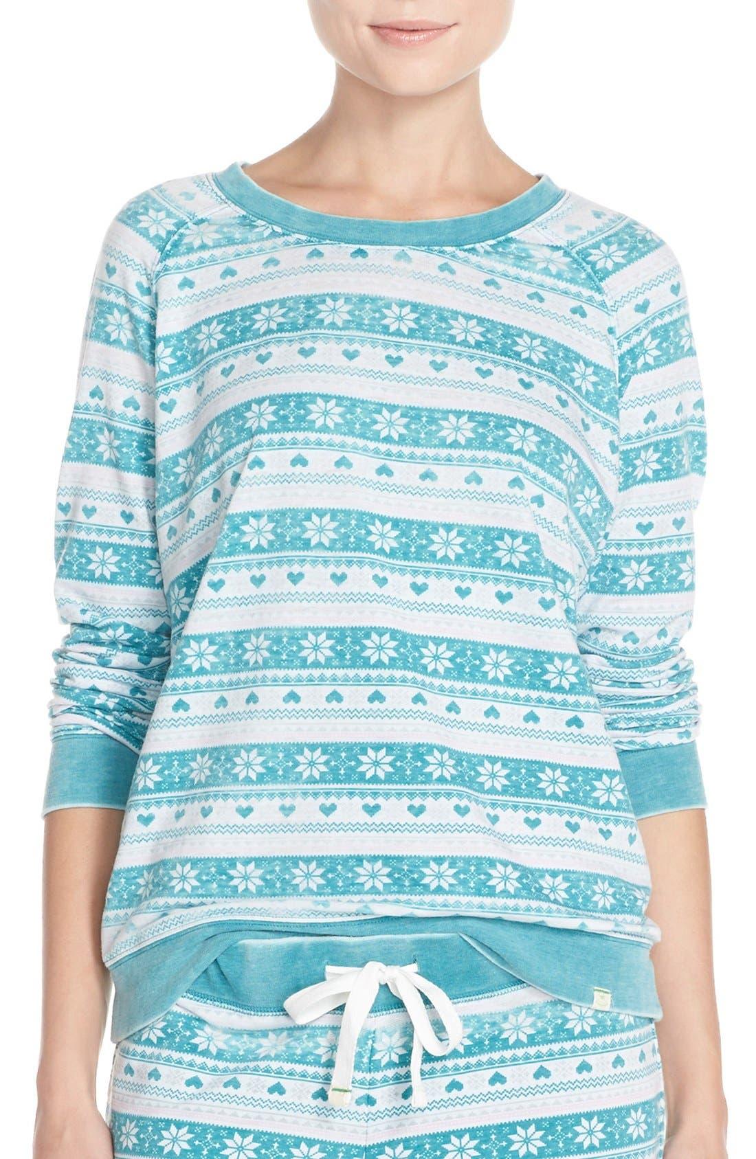 Burnout Lounge Sweatshirt,                             Main thumbnail 28, color,