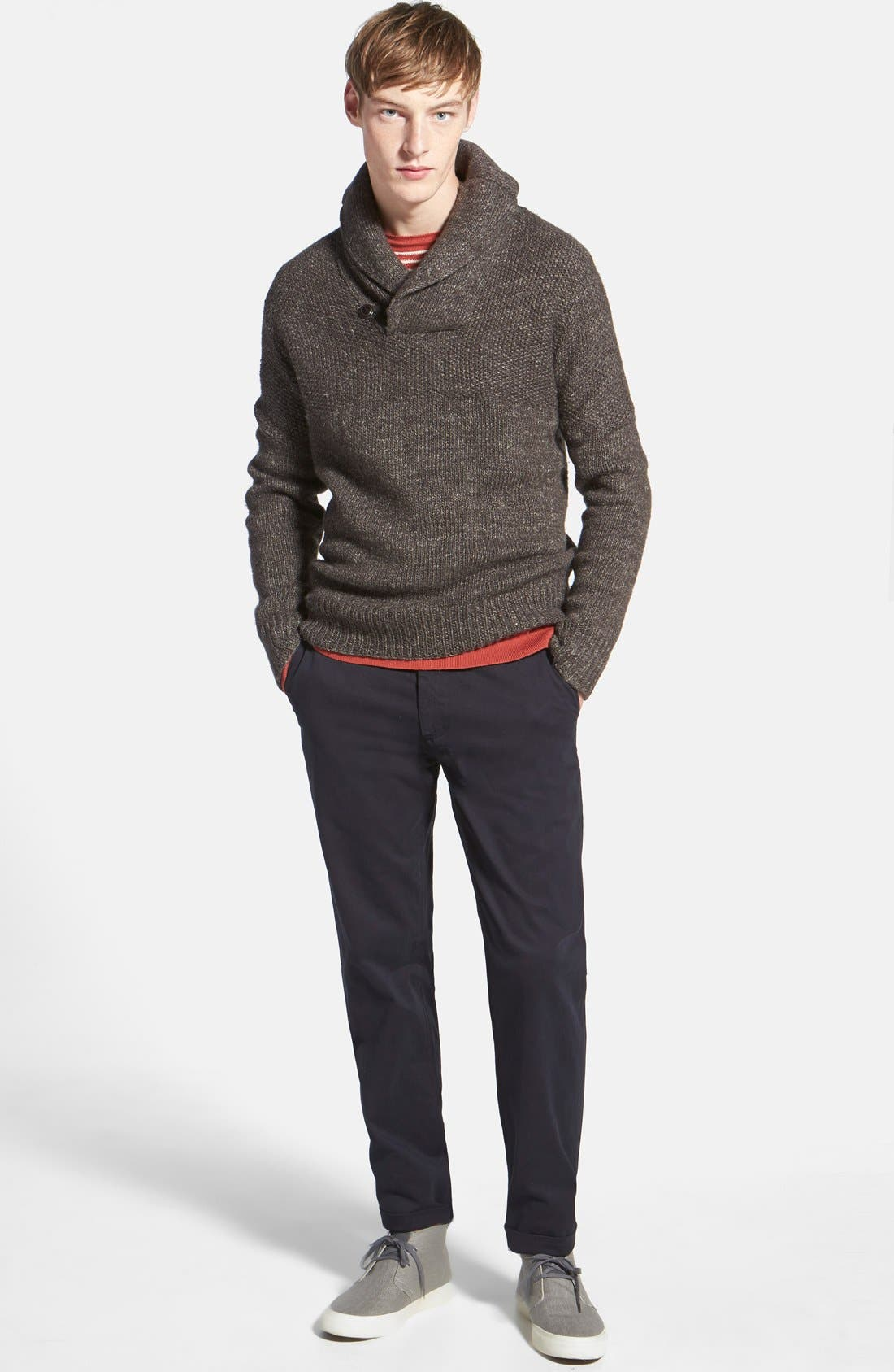 'The Lux' Tailored Straight Leg Chinos,                             Alternate thumbnail 54, color,