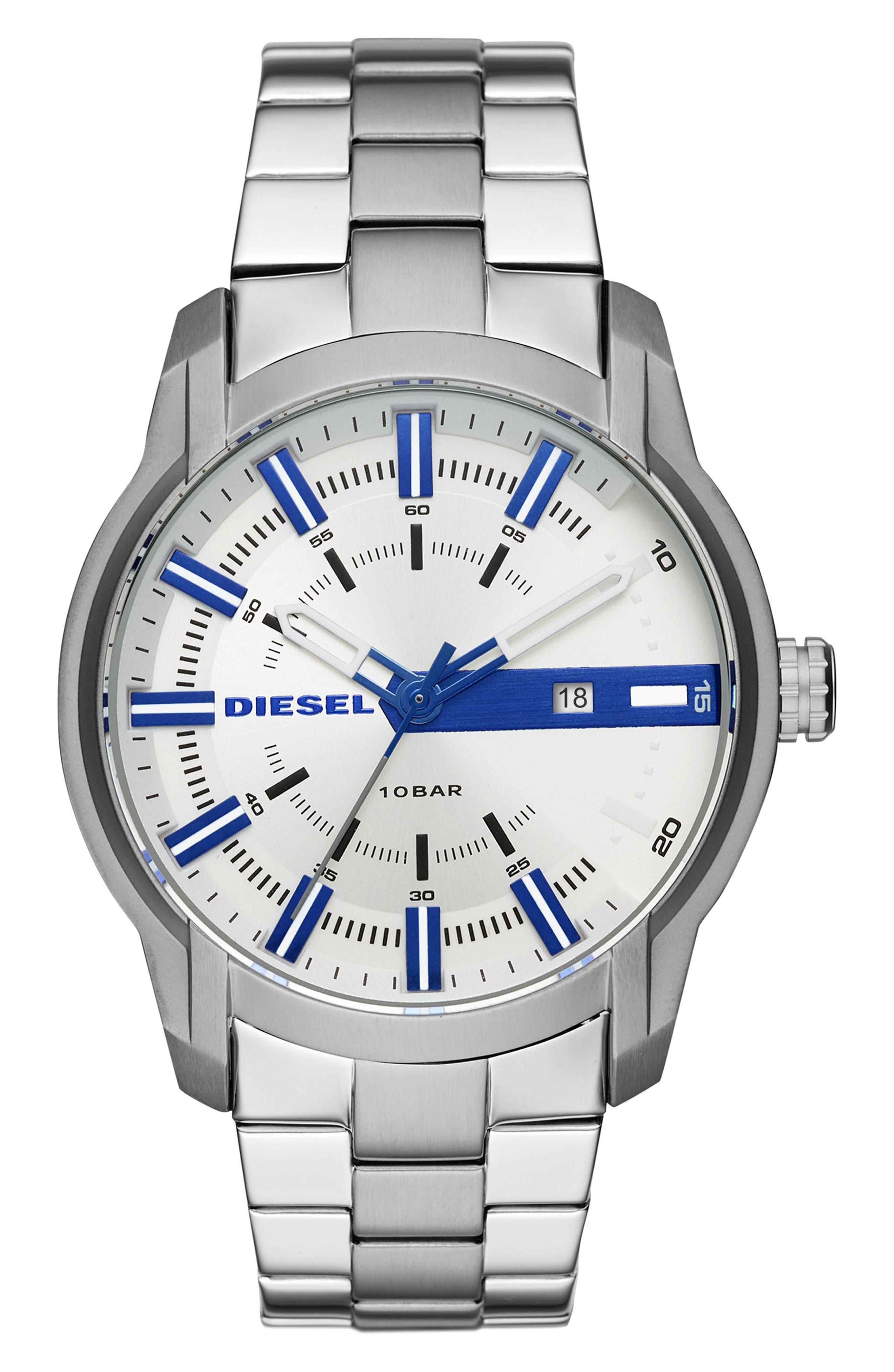 Armbar Bracelet Watch, 44mm,                         Main,                         color, 041