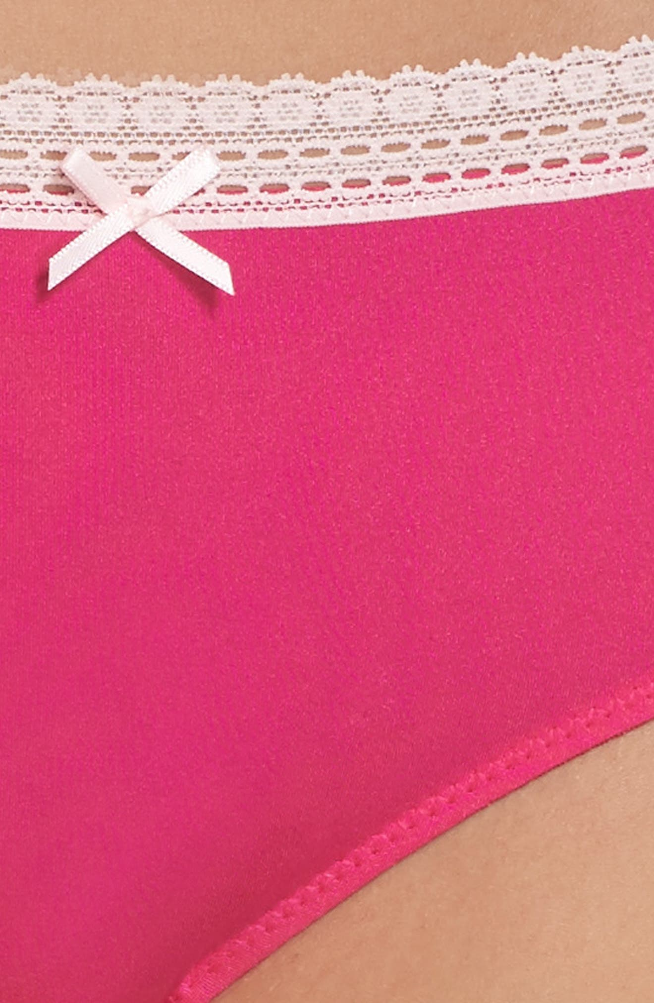 'Forever Perfect - Cutie' Hipster Briefs,                             Alternate thumbnail 4, color,                             650