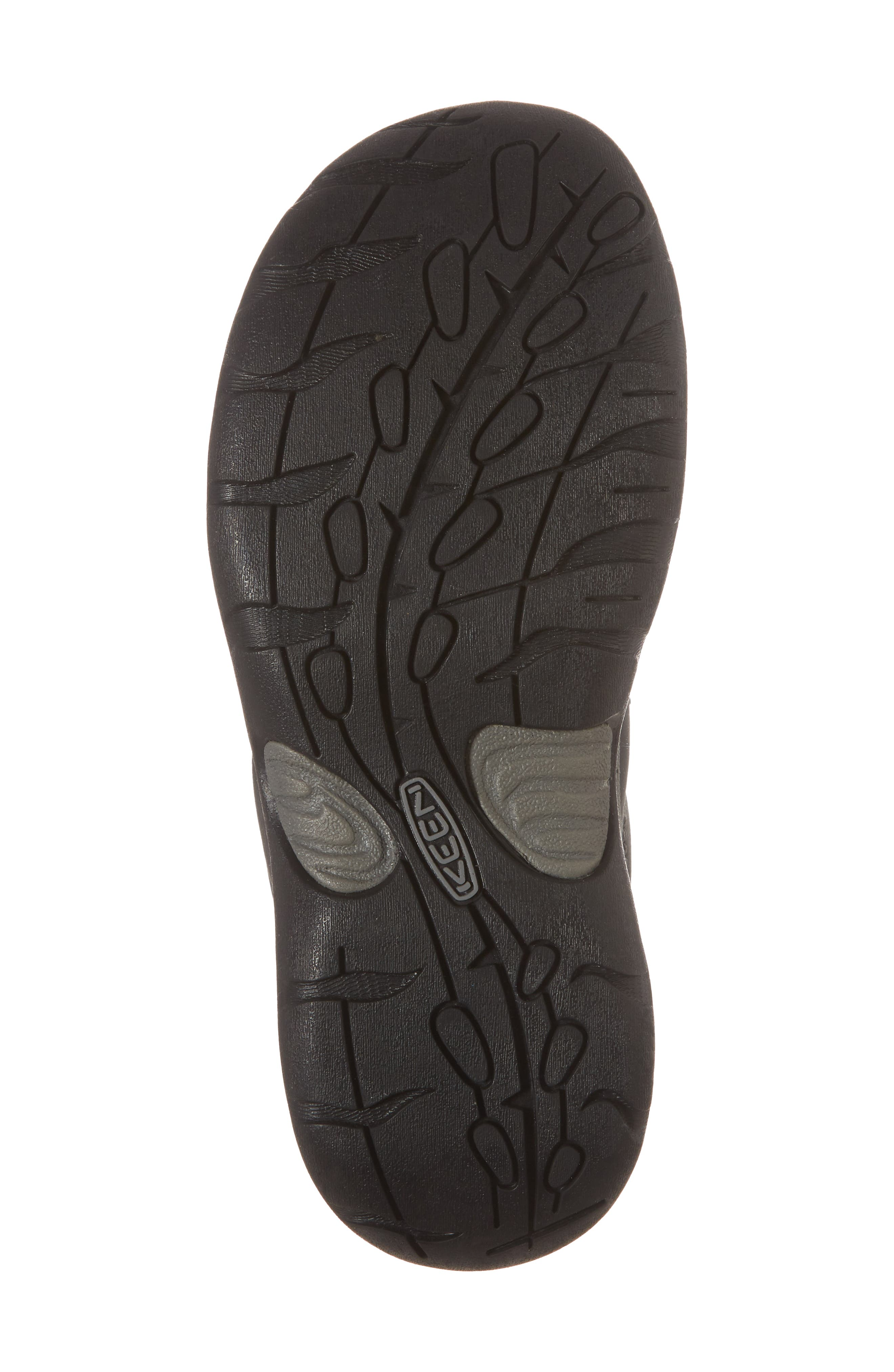 Presidio II Sneaker,                             Alternate thumbnail 6, color,                             BLACK/ STEEL GREY LEATHER