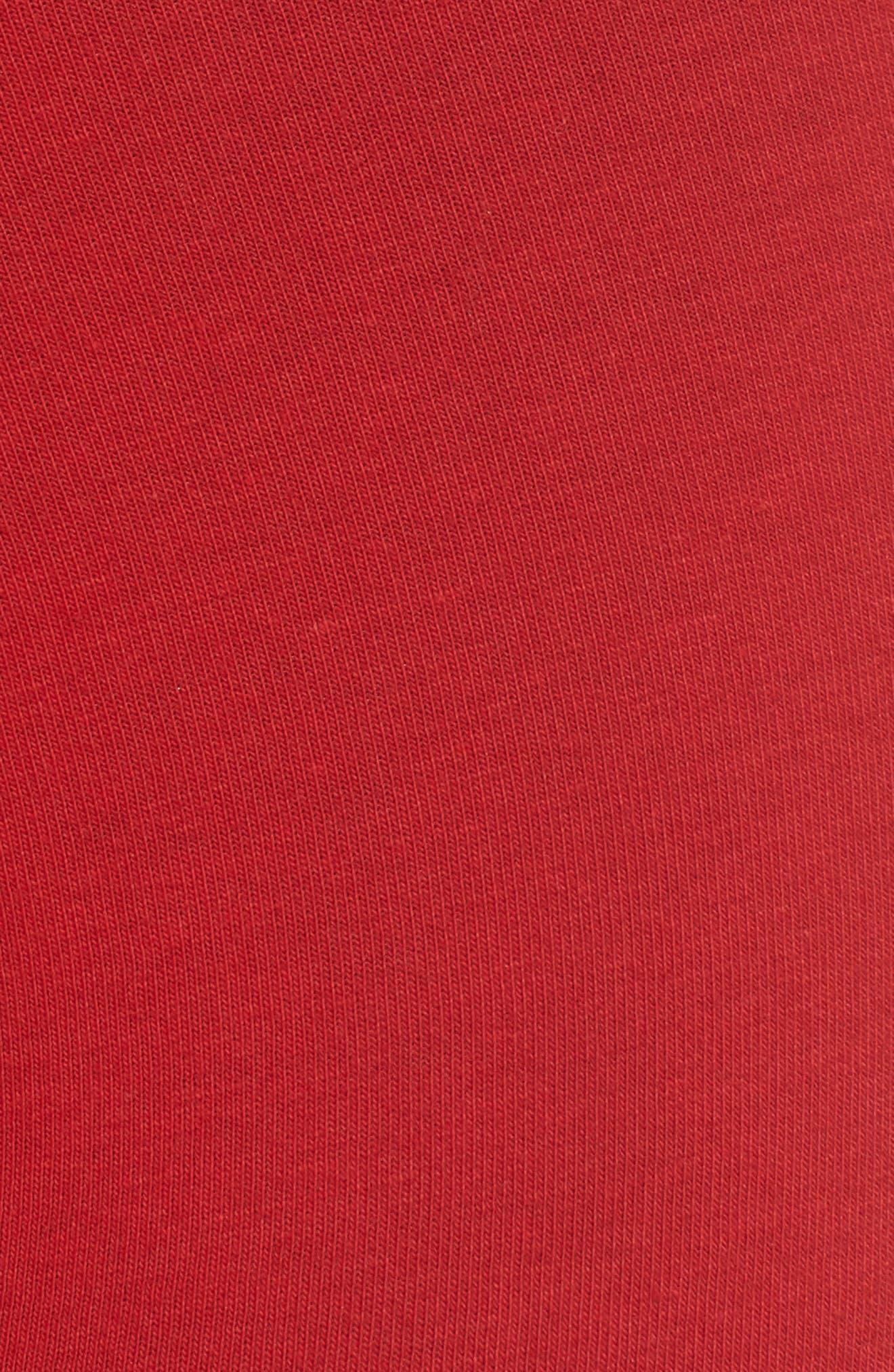 4-Pack Cotton Trunks,                             Alternate thumbnail 6, color,                             BLACK/ RED/ GREY SKY