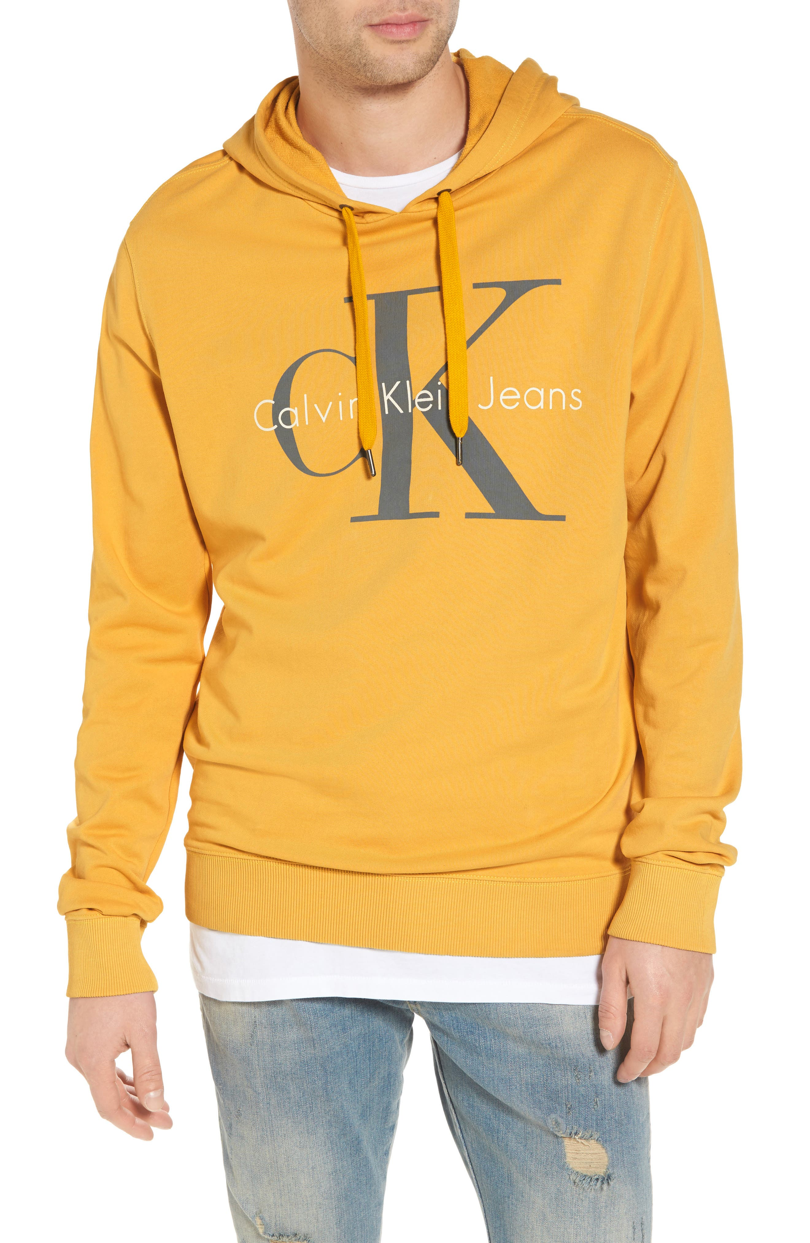 Pop Color Hoodie,                             Main thumbnail 1, color,                             SPECTRA YELLOW