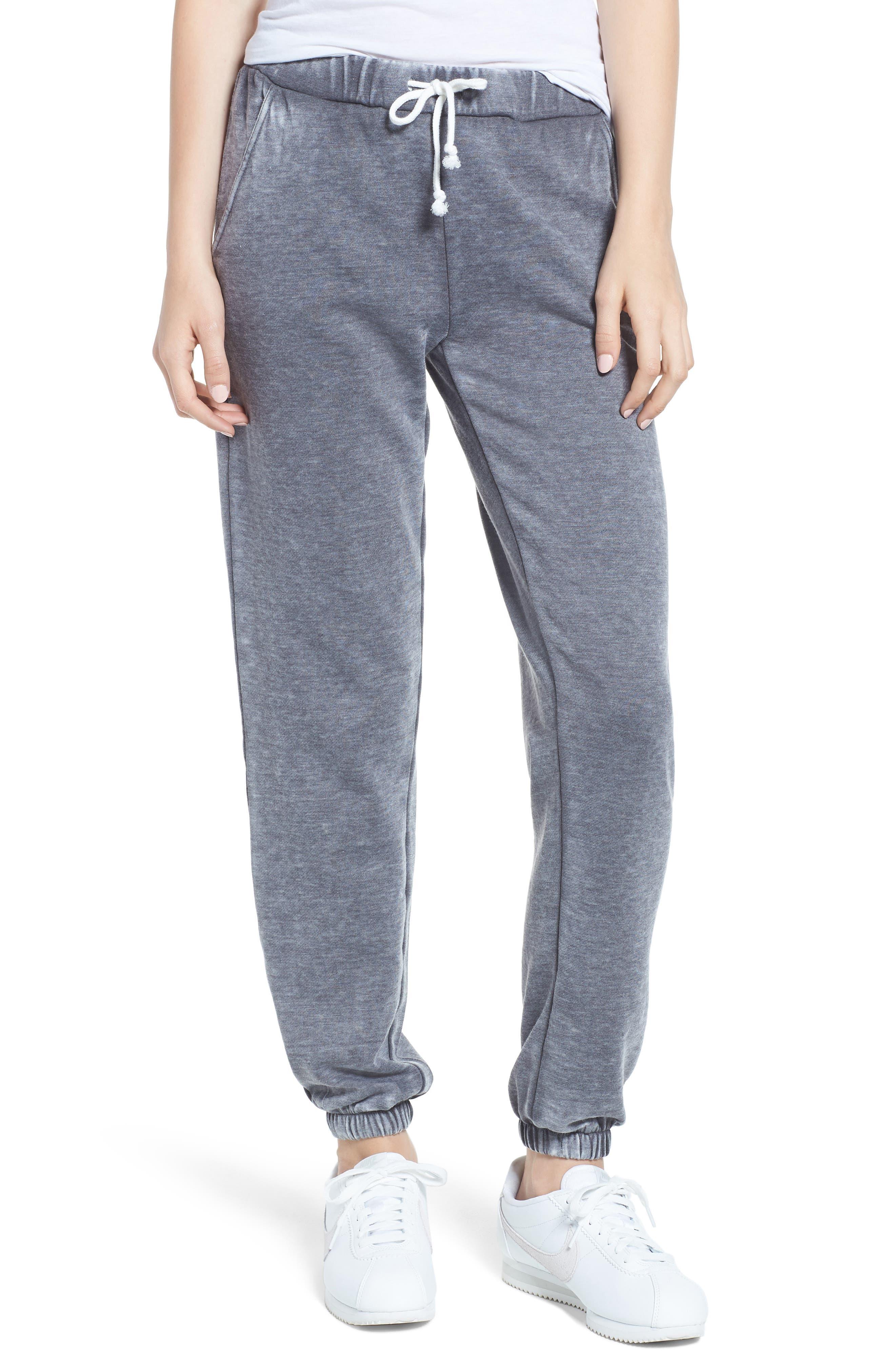 Riya Fashion Fleece Sweatpants,                             Main thumbnail 1, color,                             020