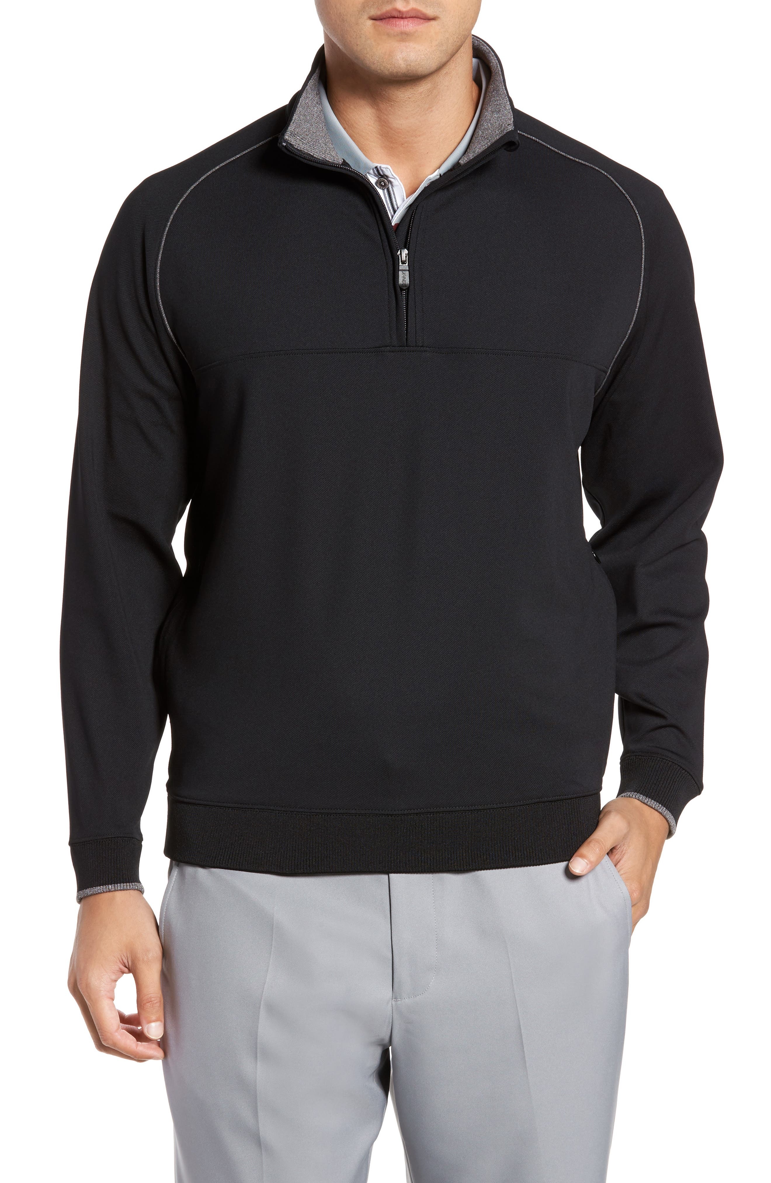 XH20 Banded Bottom Pullover,                         Main,                         color, 001