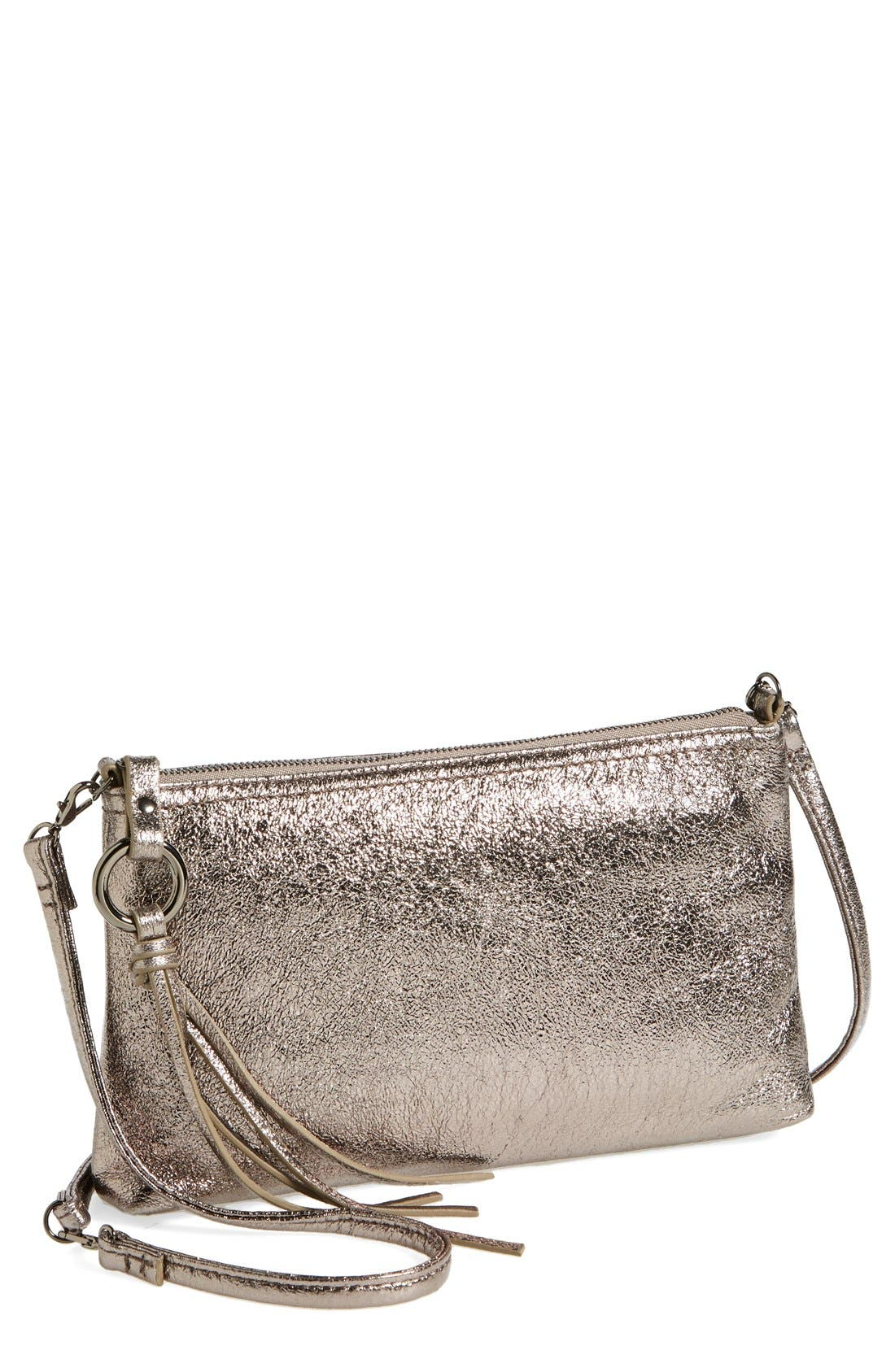 'Darcy' Leather Crossbody Bag,                             Main thumbnail 11, color,
