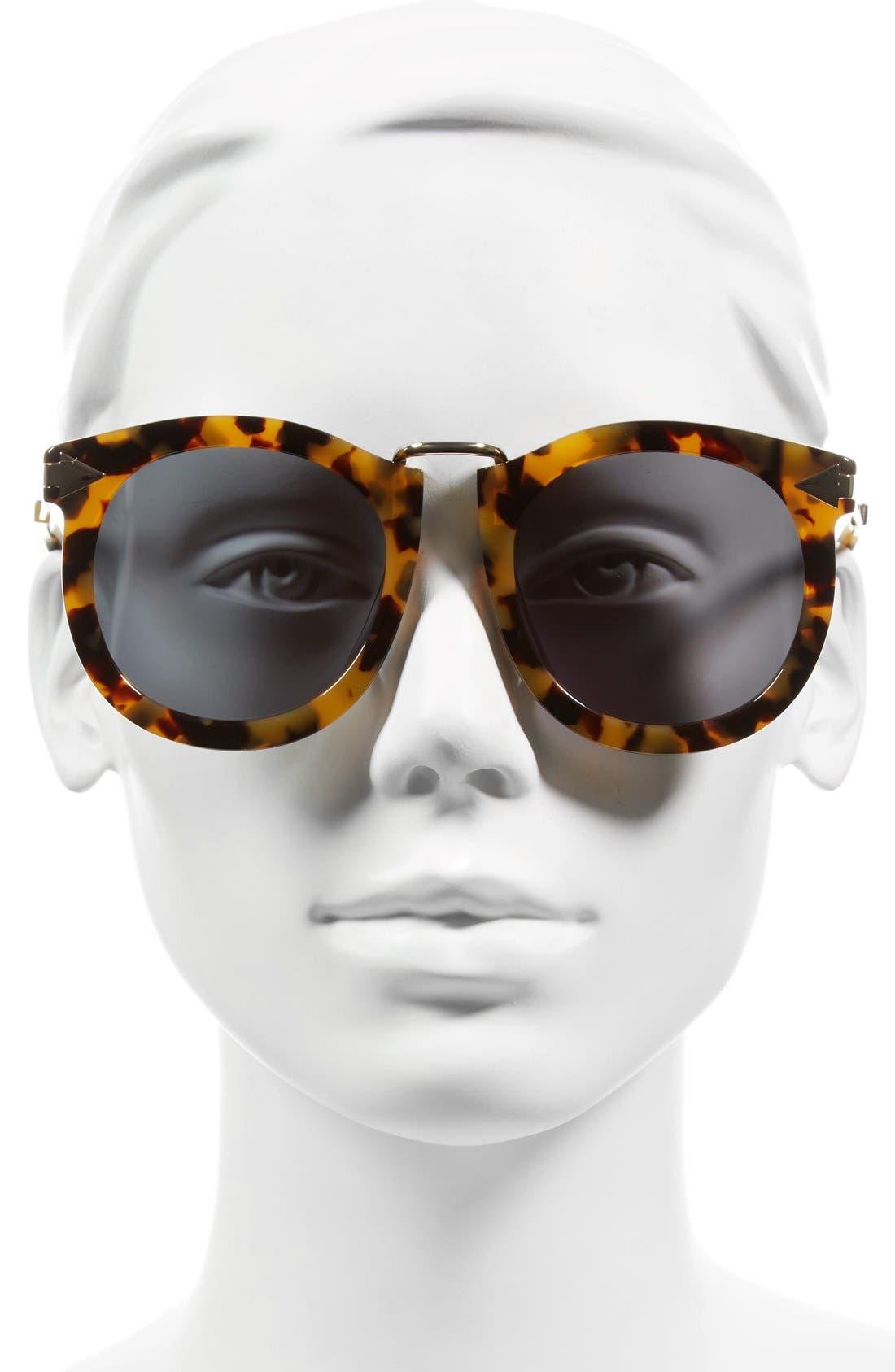 Alternative Fit Super Lunar - Arrowed by Karen 50mm Sunglasses,                             Alternate thumbnail 8, color,