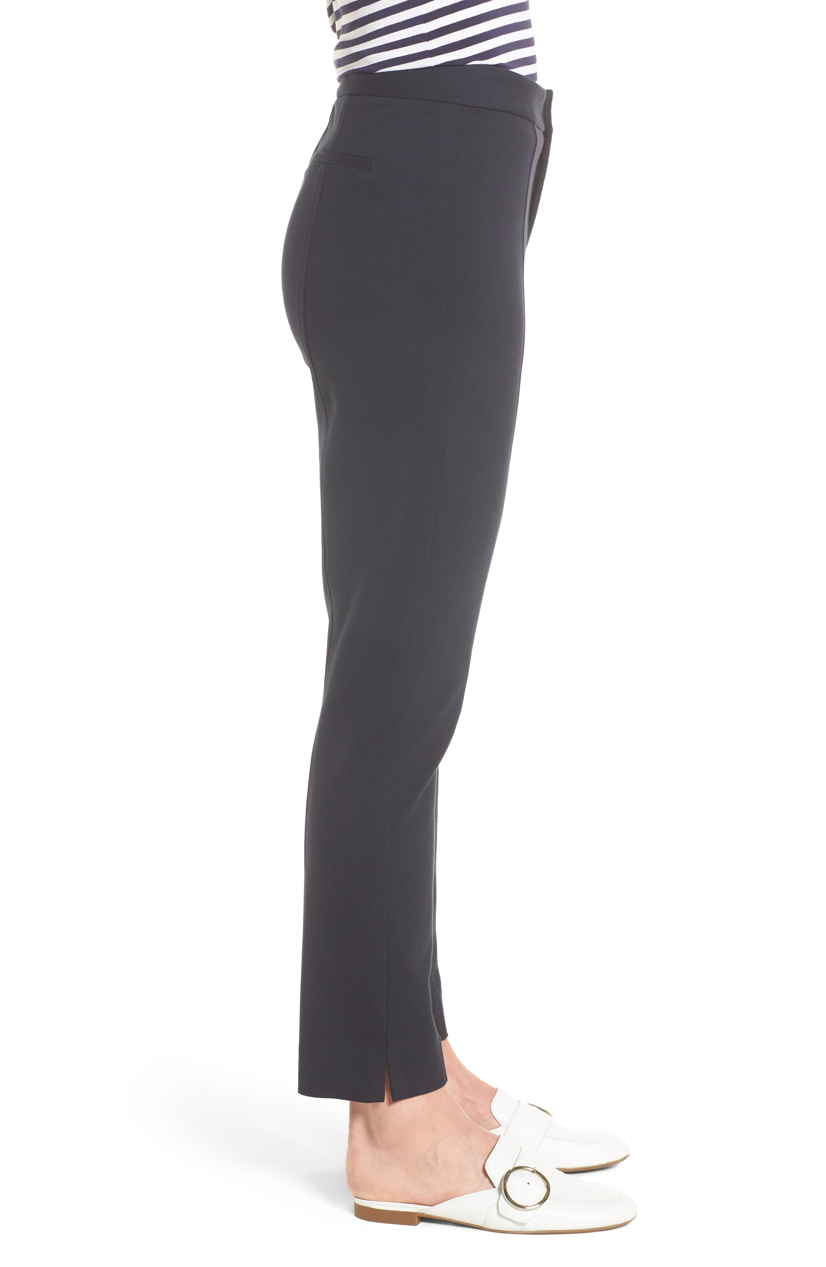 Betty Stretch Ankle Pants,                             Alternate thumbnail 3, color,                             412