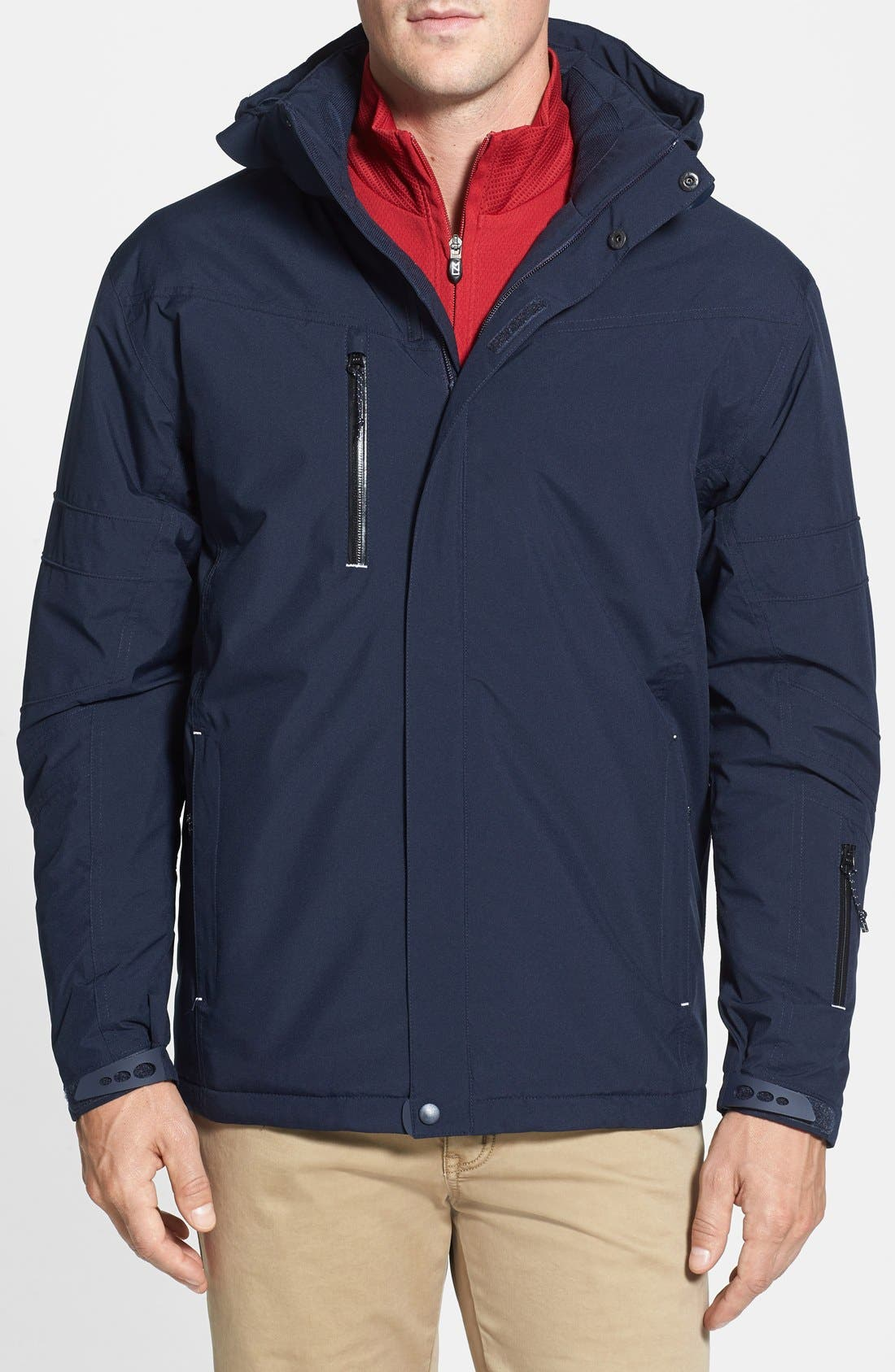 CUTTER & BUCK WeatherTec Sanders Jacket, Main, color, 420