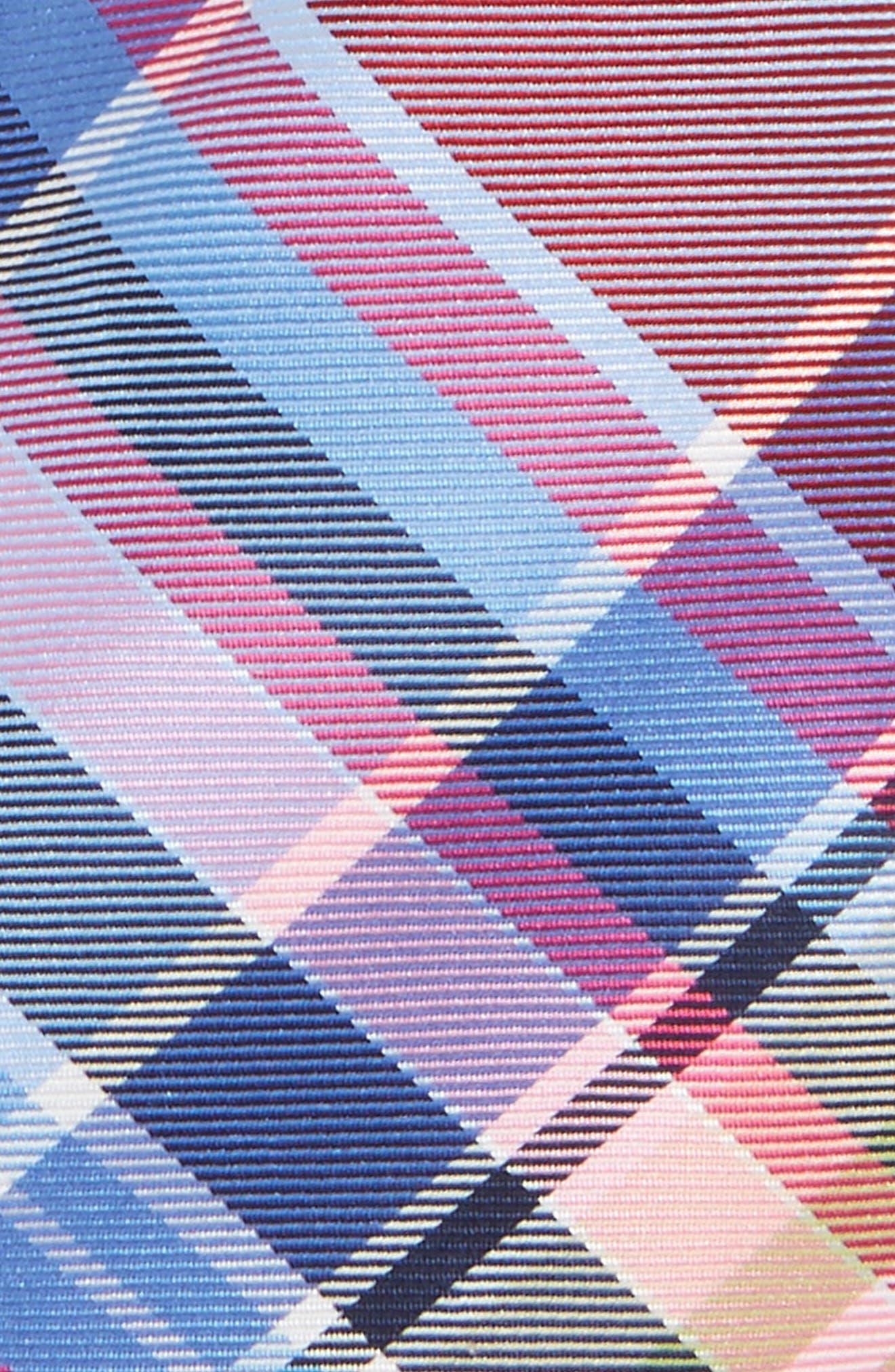 Plaid Silk Tie,                             Alternate thumbnail 4, color,