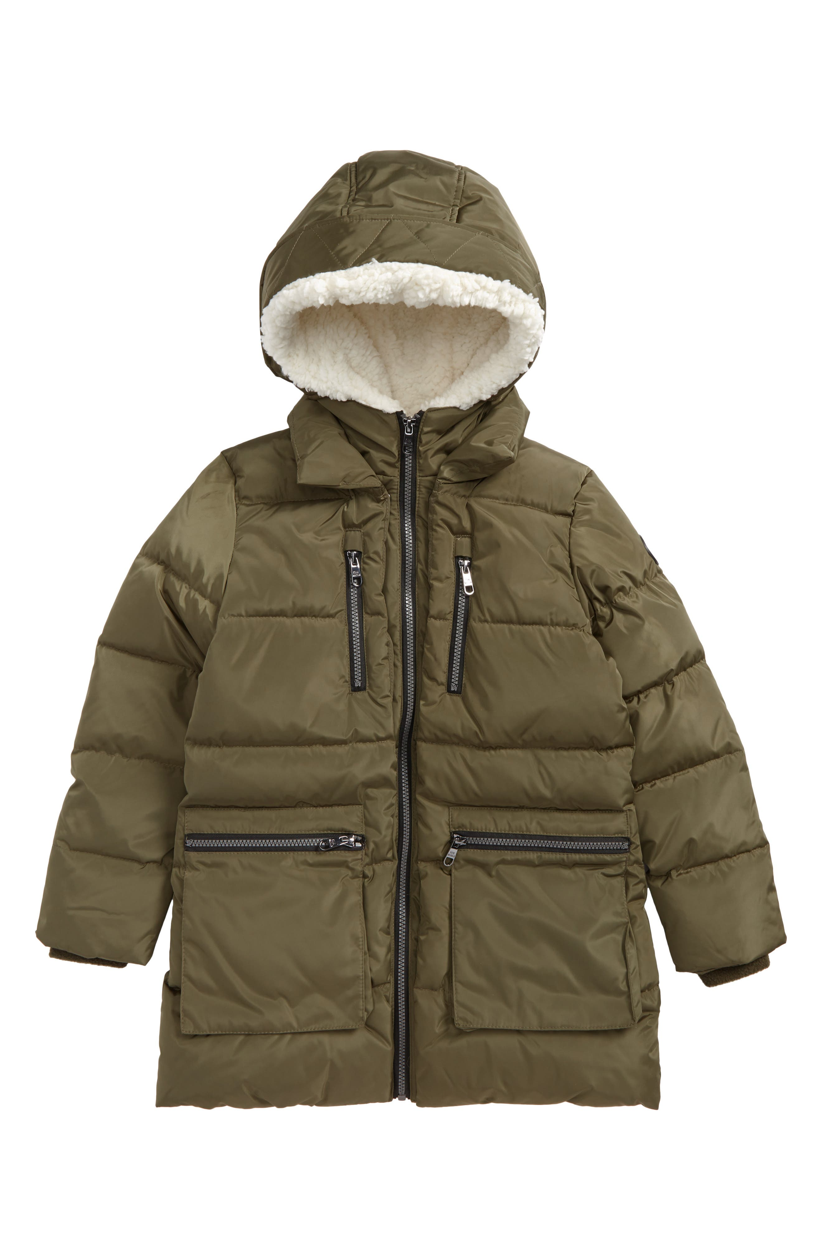 Hooded Puffer Jacket,                             Main thumbnail 1, color,