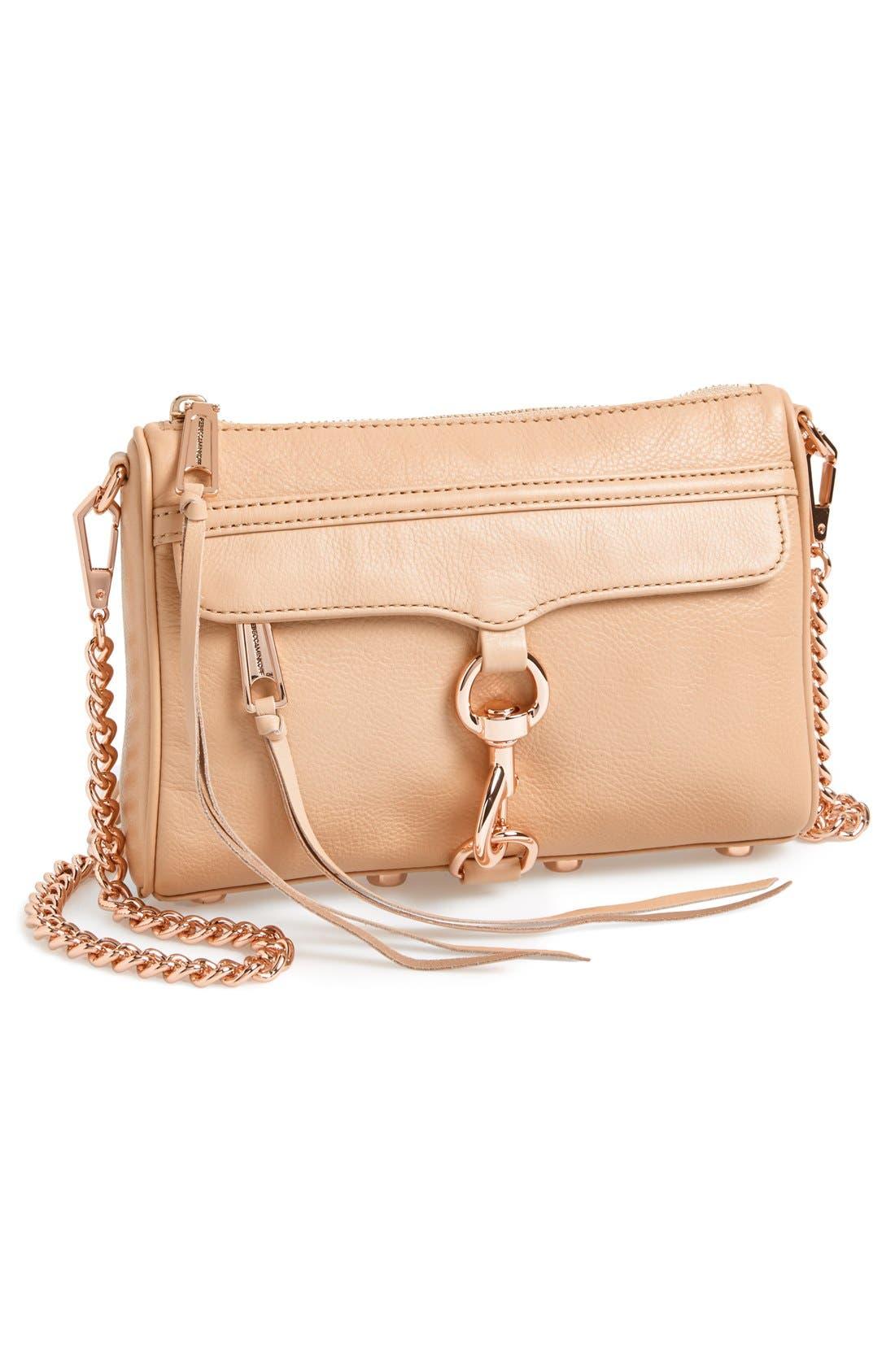 'Mini MAC' Convertible Crossbody Bag,                             Main thumbnail 3, color,