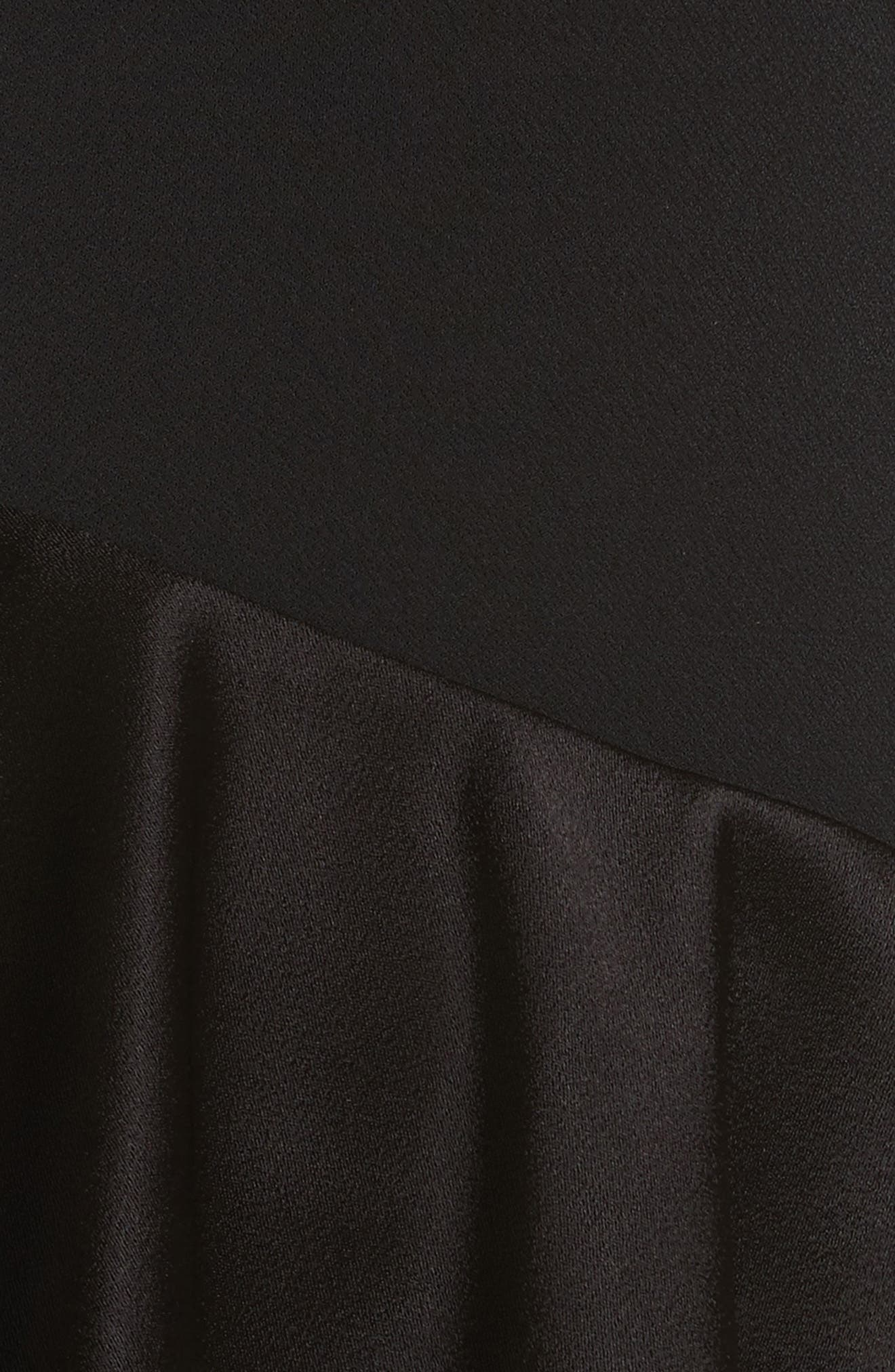 Izzy One-Shoulder Ruffle Dress,                             Alternate thumbnail 6, color,